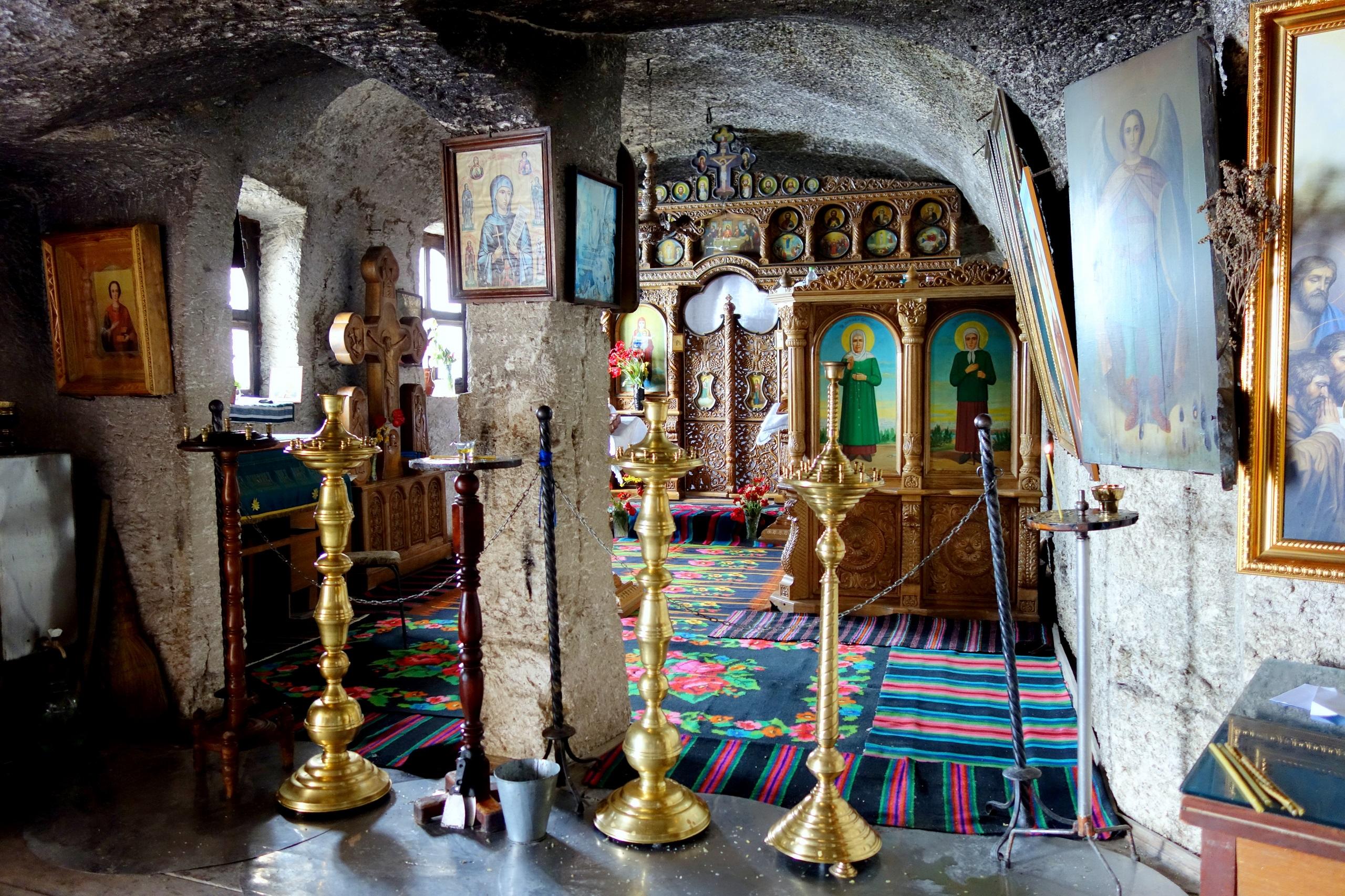 Monastyr Peştera - Stare Orhei, Mołdawia