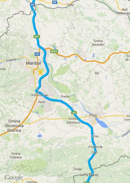 Dojazd samochodem do Chorwacji: Słowenia