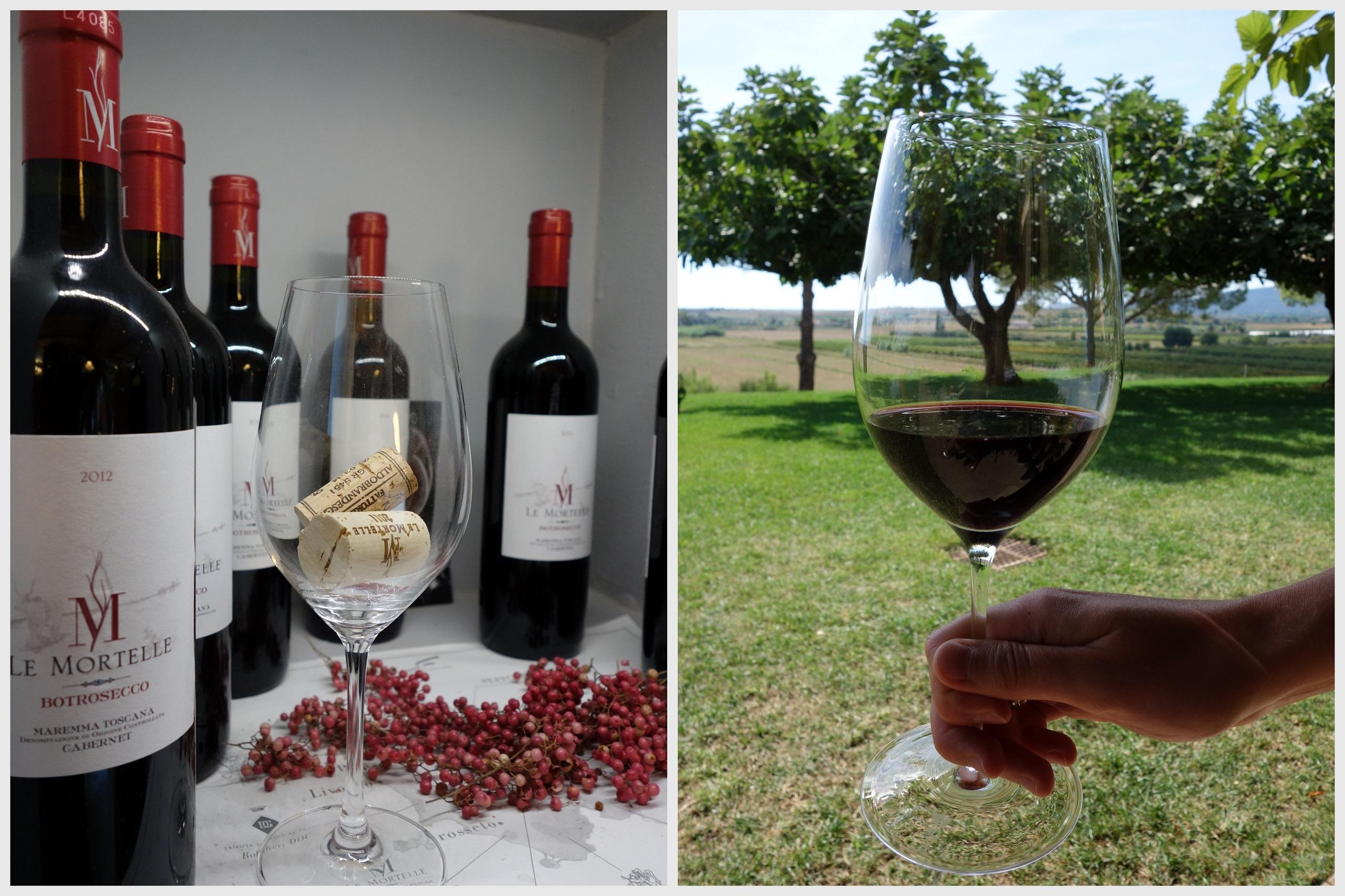 Le Mortelle - wino