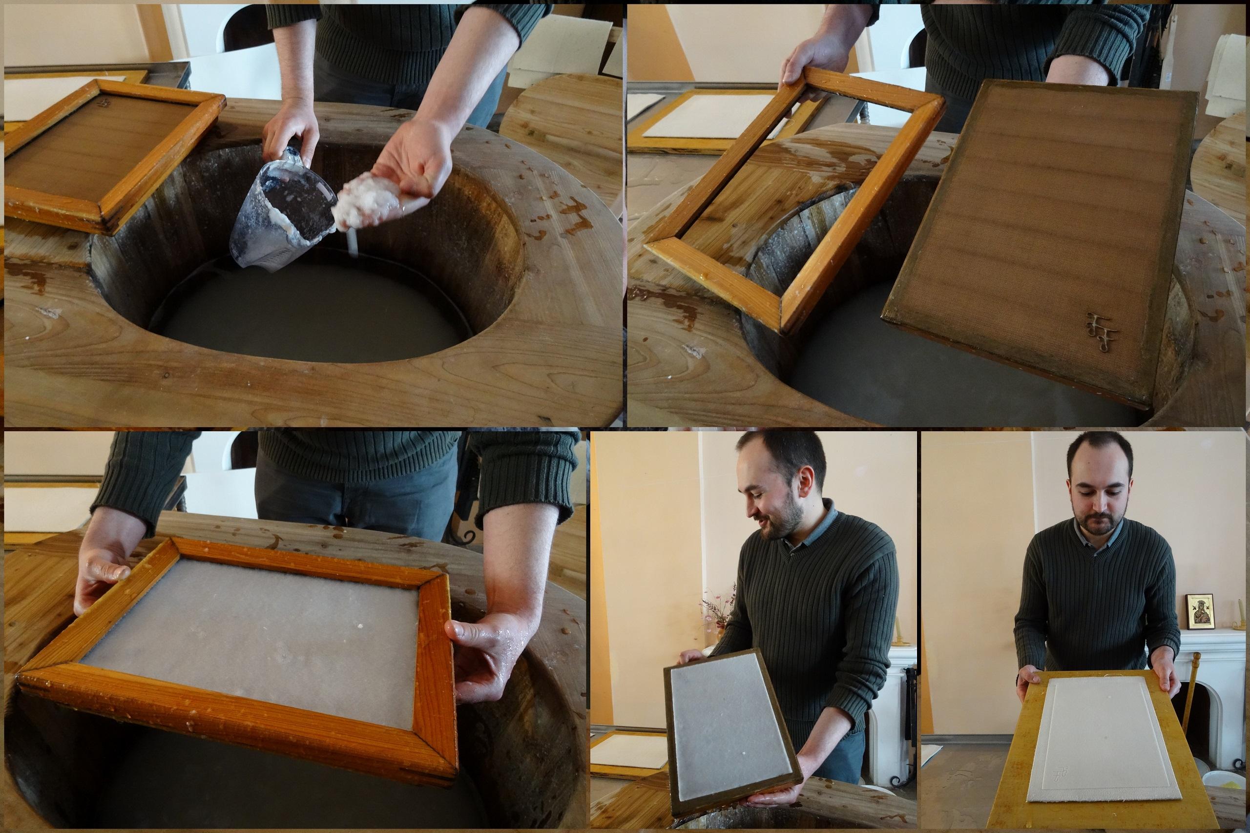 Jak zrobić kartkę papieru? - Muzeum Sztuki Drukarskiej i Papiernictwa