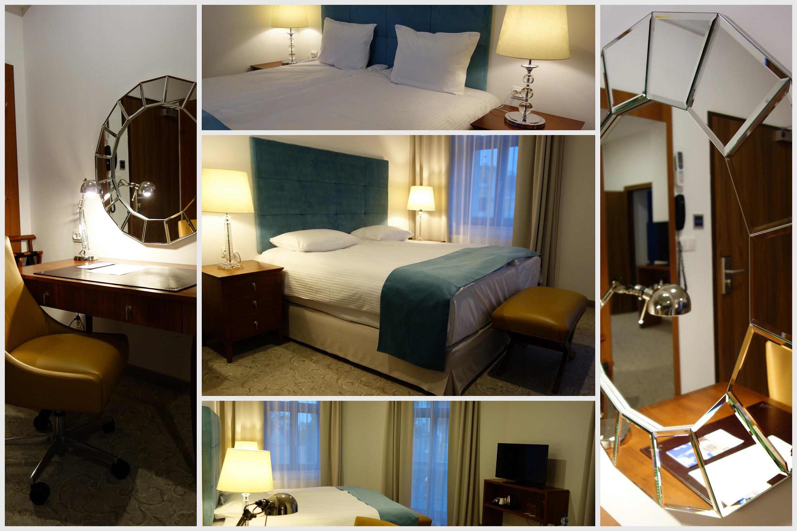 Hotel Śródka - wystrój wnętrz