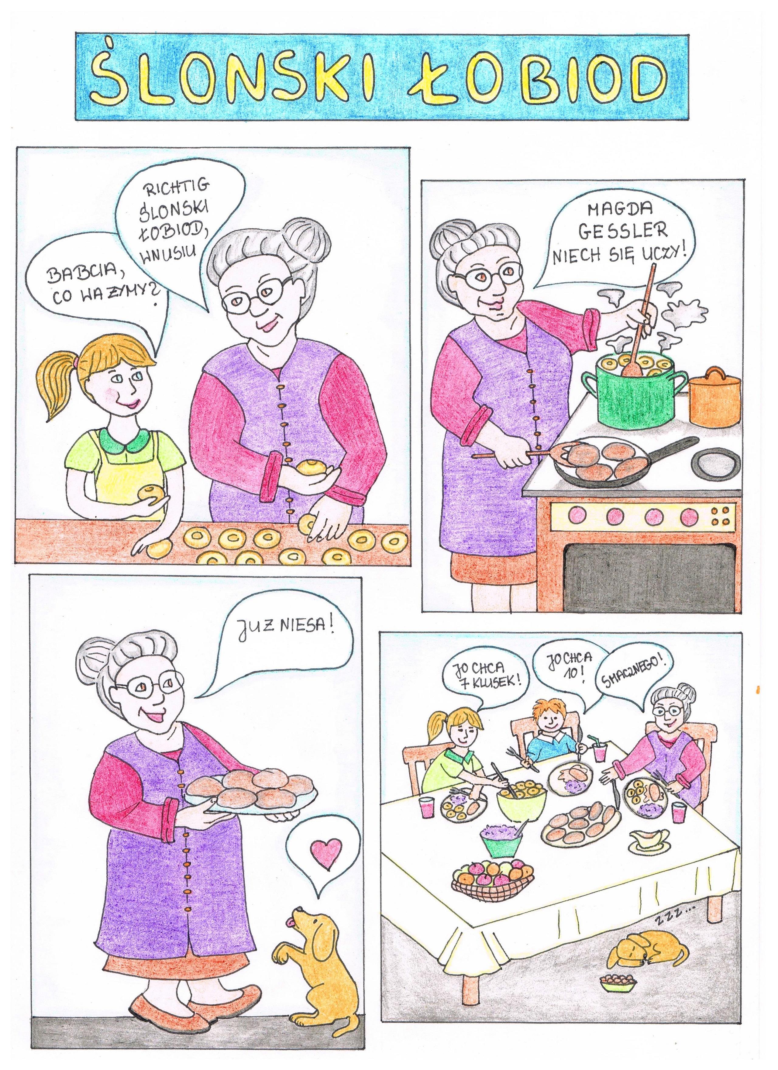 Zapoznaj mnie ze swoją kuchnią regionalną - Ślonski łobiod, aut. Anna Bernacik