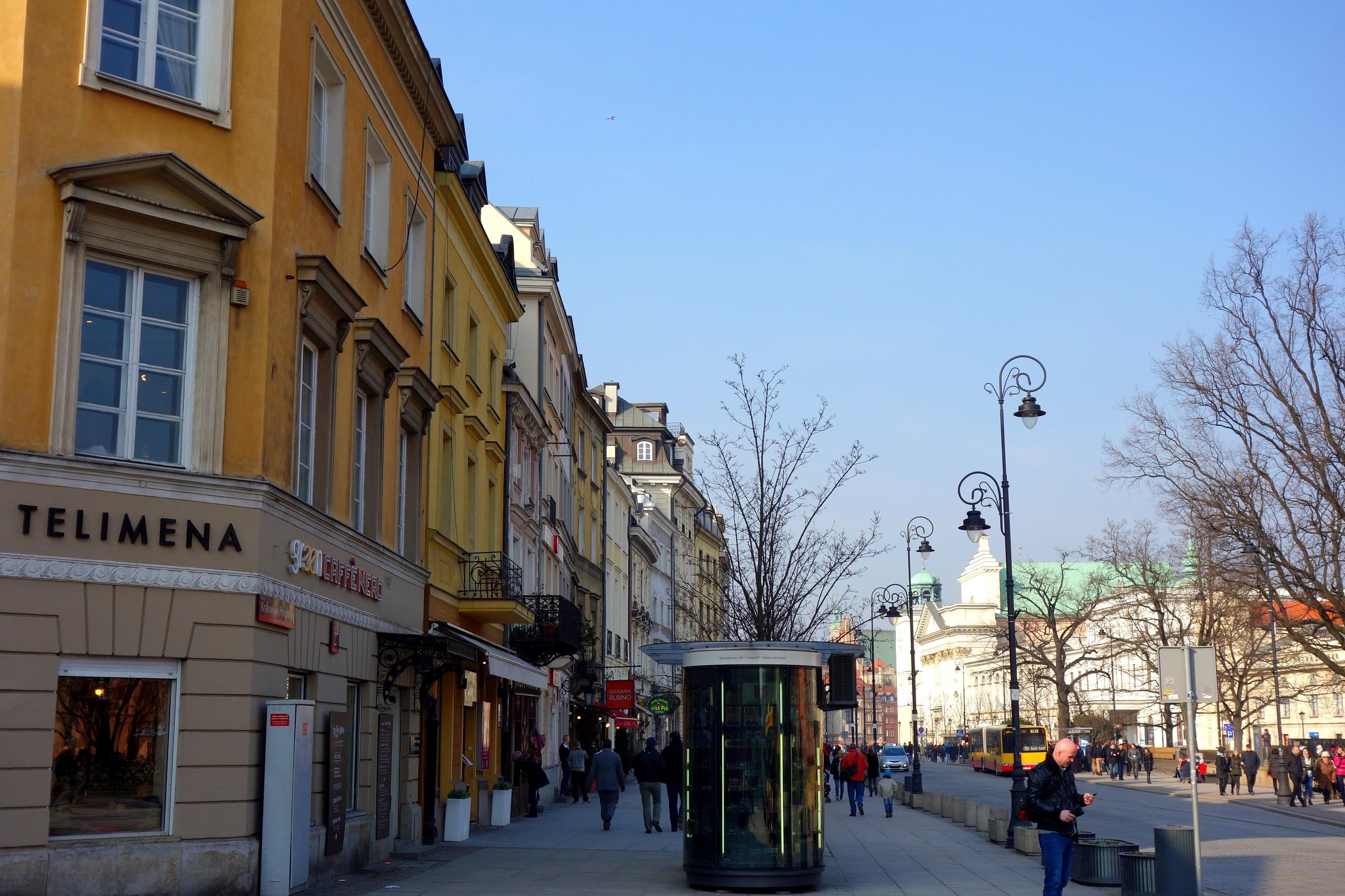 Cukiernie i kawiarnie w Warszawie - dawniej i dziś! Dawna Telimena przy Krakowskim Przedmieściu