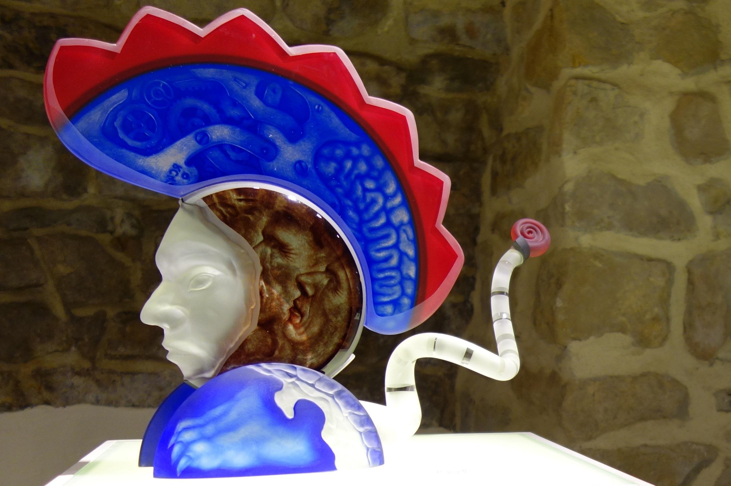 Centrum Dziedzictwa Szkła Krosno - rzeźba
