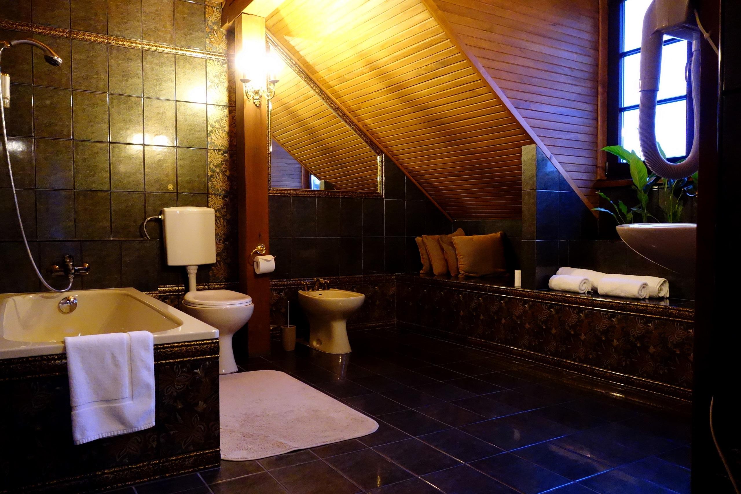 Przykładowa łazienka - Jaworowy Dwór