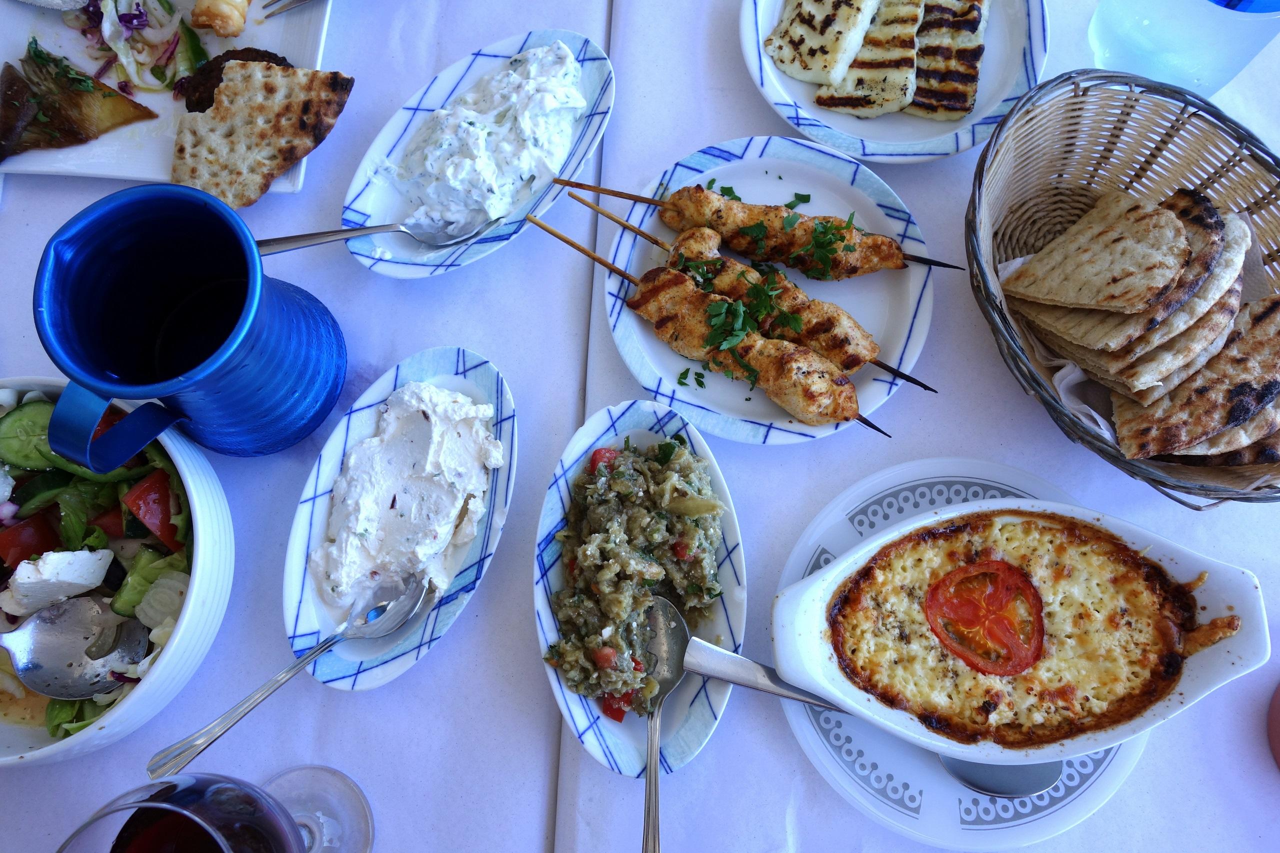 Meze mięsne na Cyprze