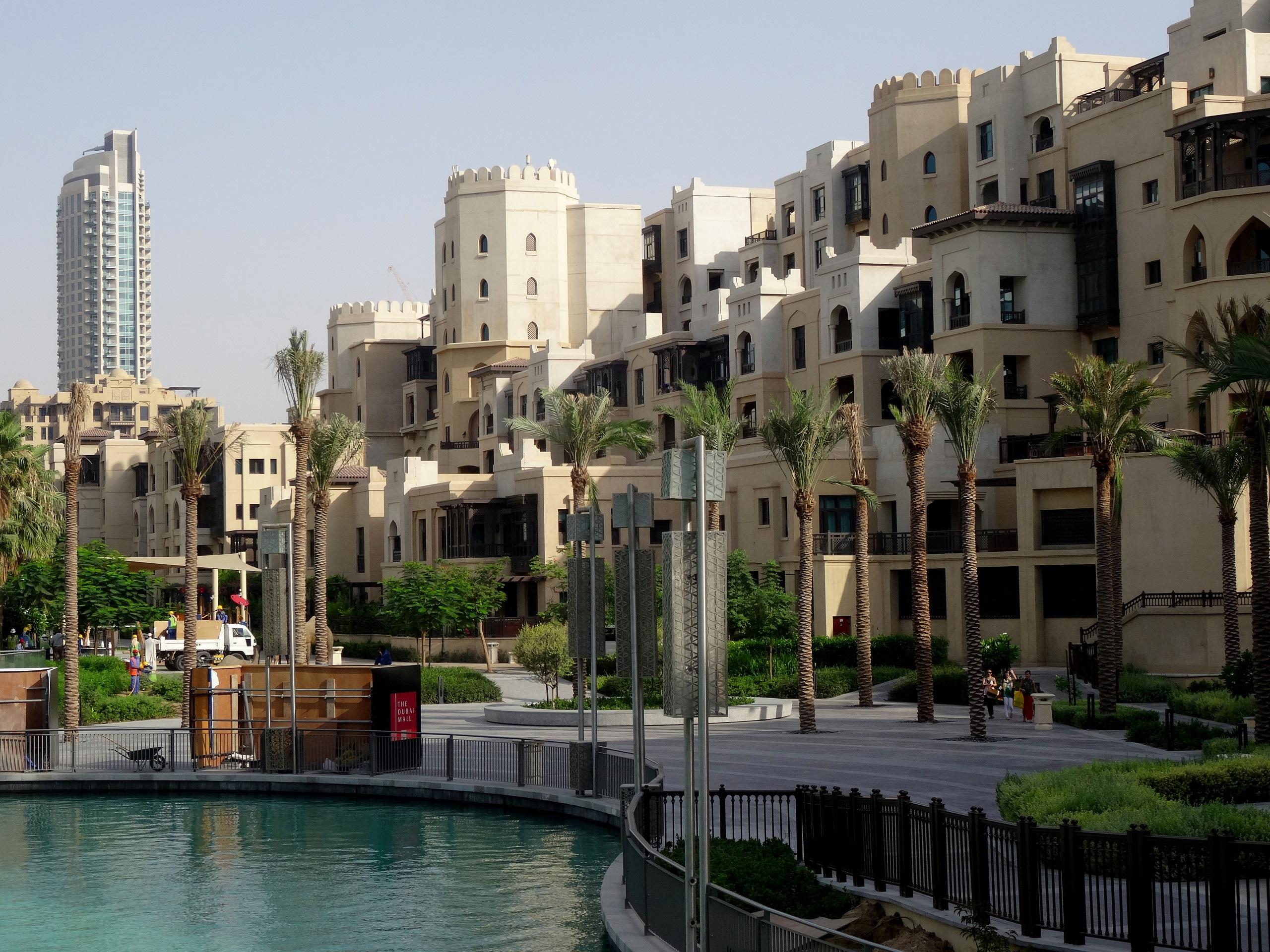 Dubaj - pustki na ulicach podczas ramadanu