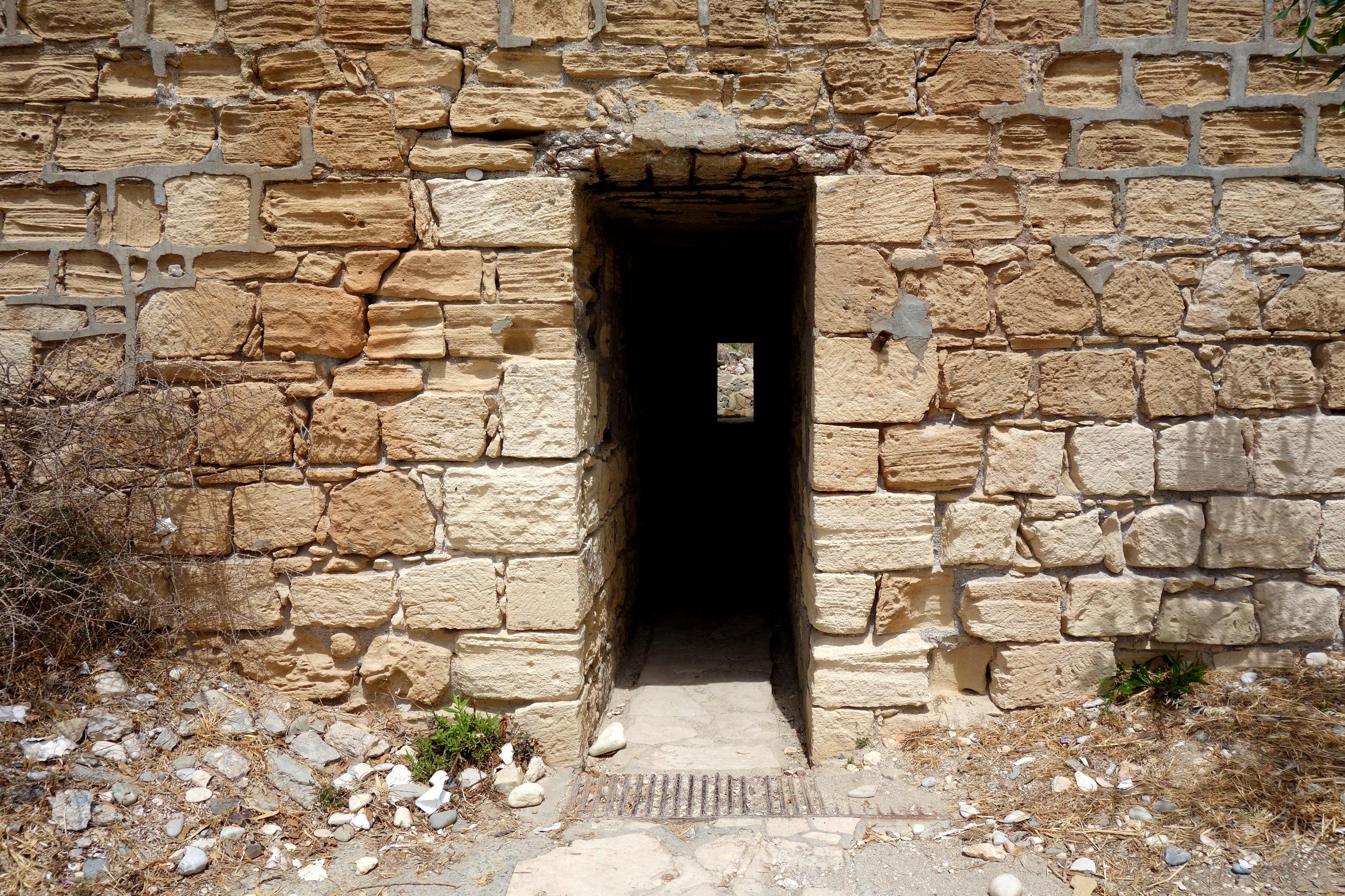 Przejście do Skały Afrodyty - Cypr