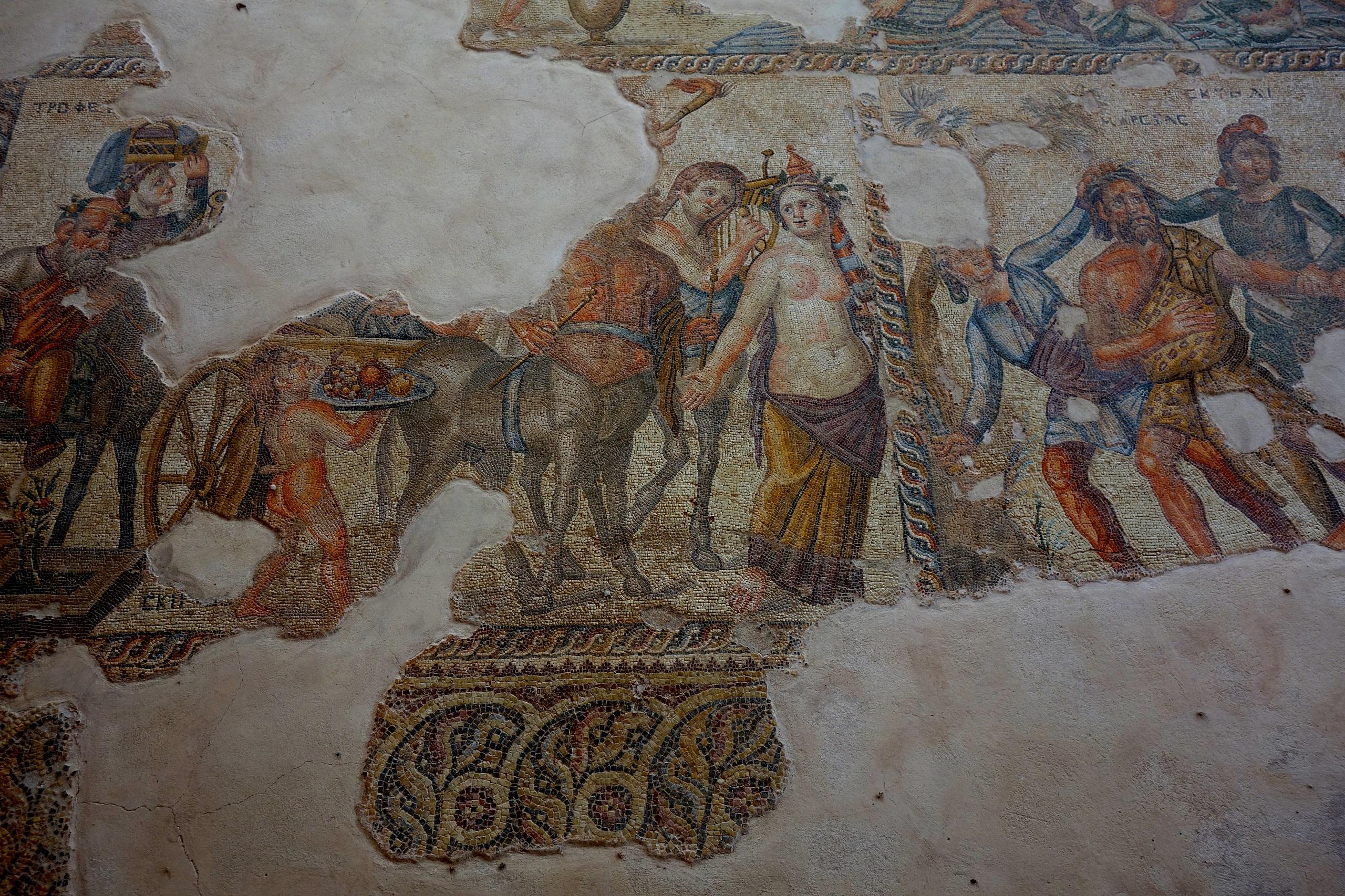Mozaika cypryjska w Pafos, Cypr