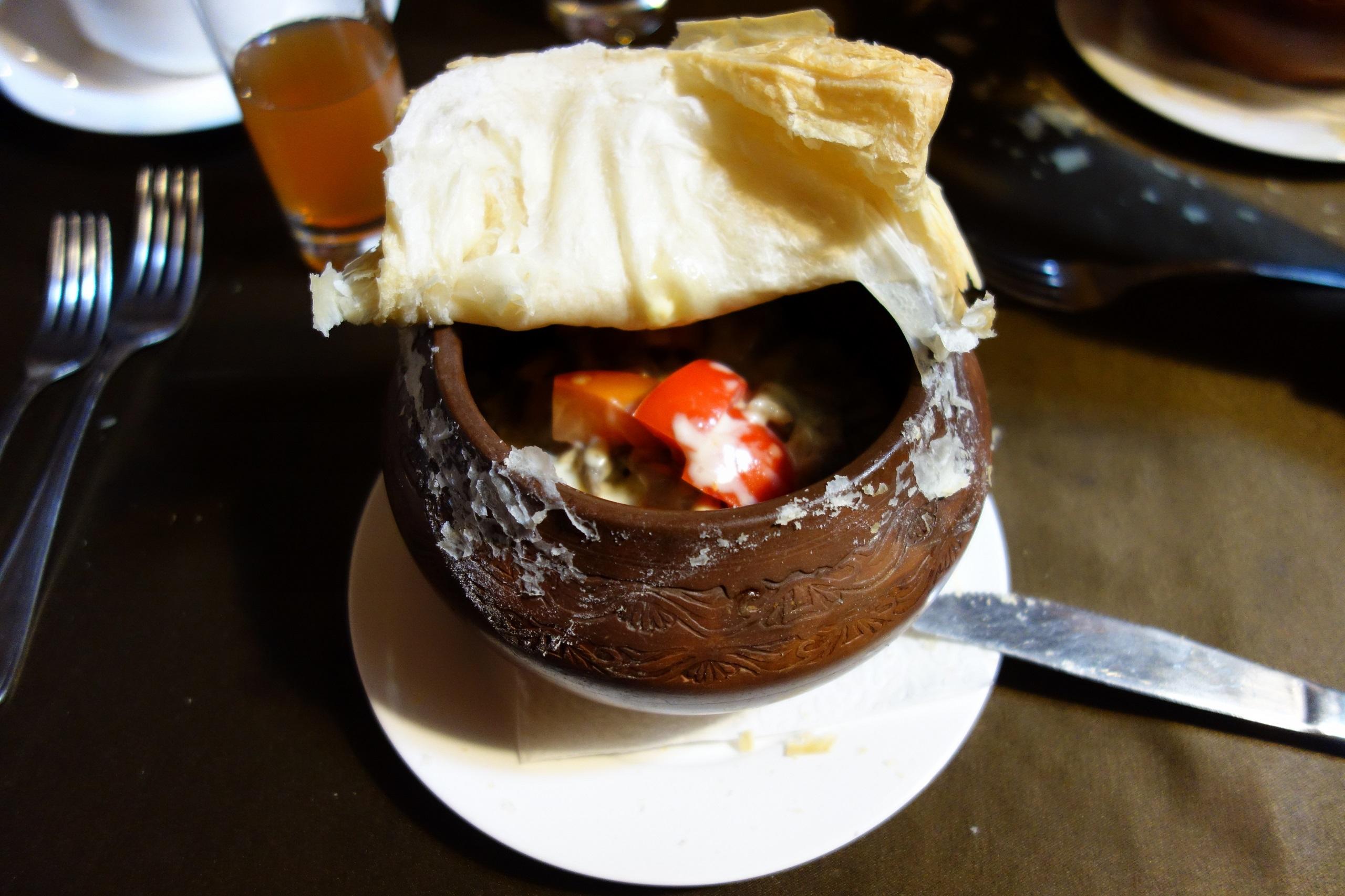 Danie jednogarnkowe - mięso z warzywami - Białoruś