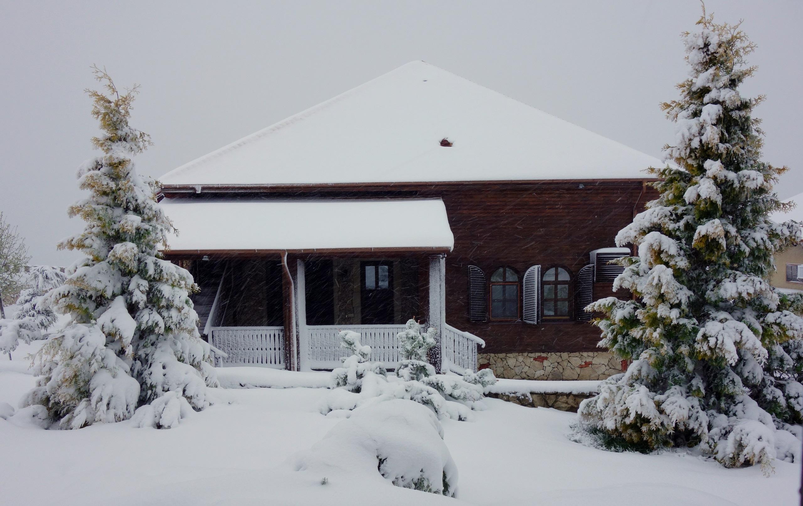 Château Vartely - zima jakiej nie było w Mołdawii od 120 lat...