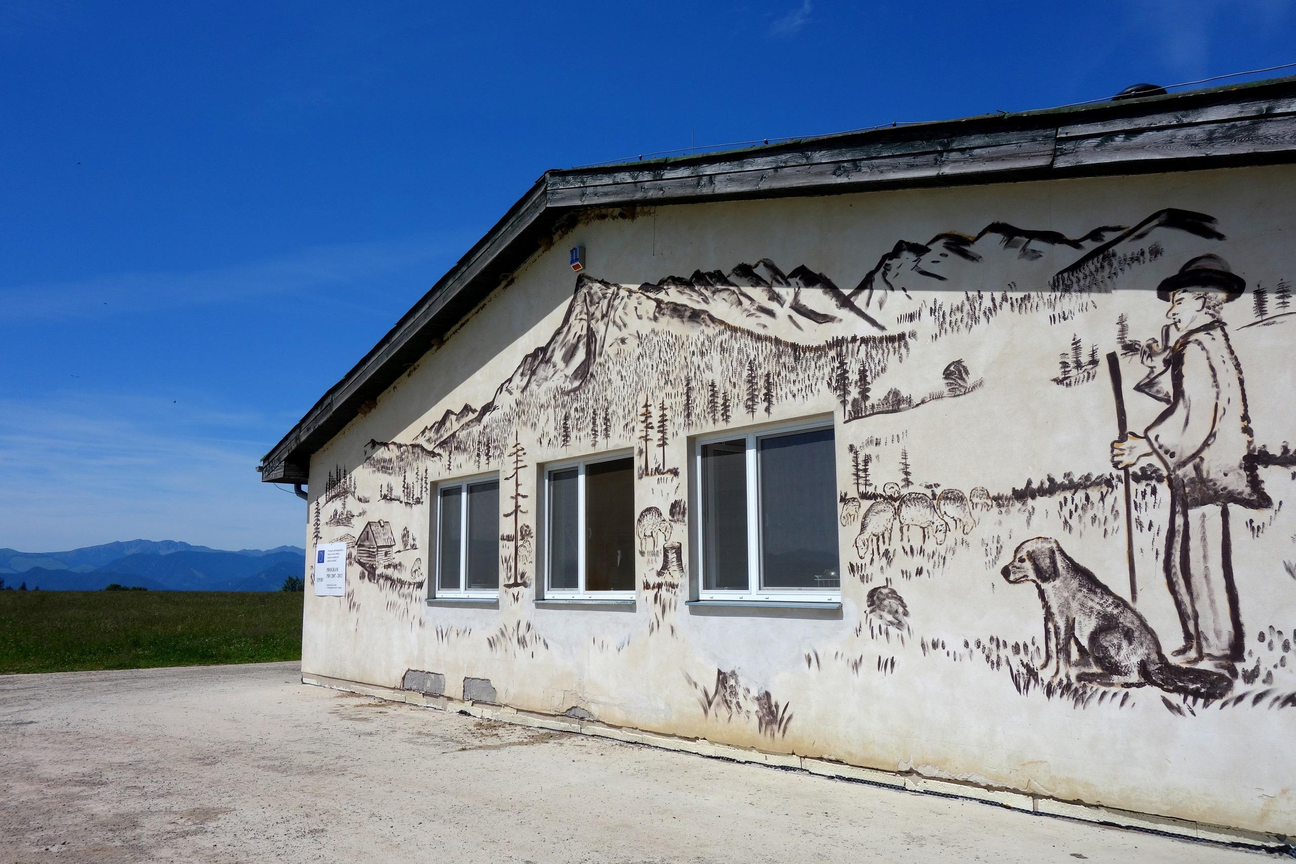 Budynek mleczarni - Farma Vychodna