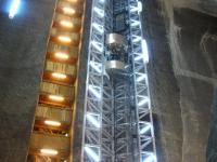 Winda w kopalni soli w Turdzie