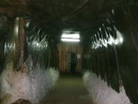 Korytarz prowadzący do Komnaty Echa - Kopalnia soli - Turda