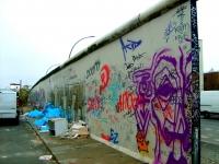 Mur Berliński - strona mniej reprezentacyjna