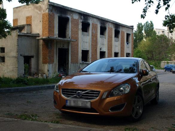 Osiedle w Bukareszcie - Rumunia