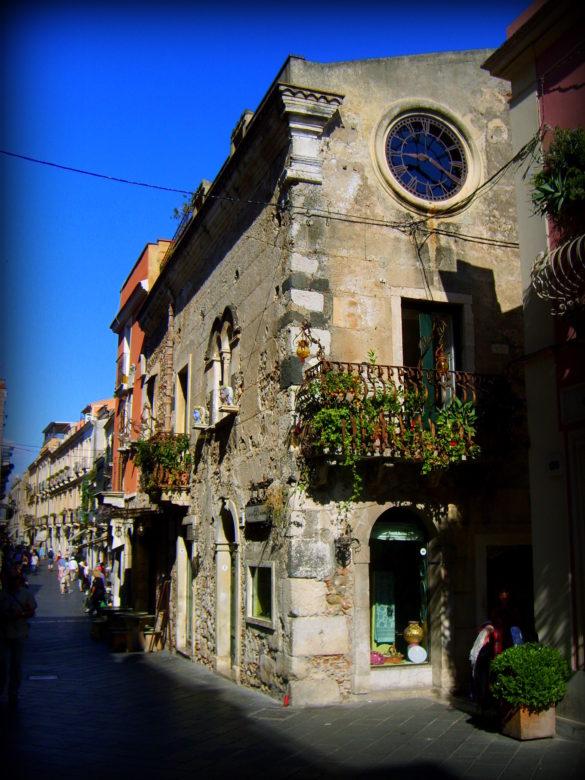 Stare Miasto w Taorminie - Sycylia