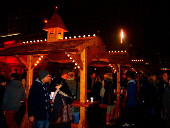 Christmas Market na Placu Poczdamskim - Berlin