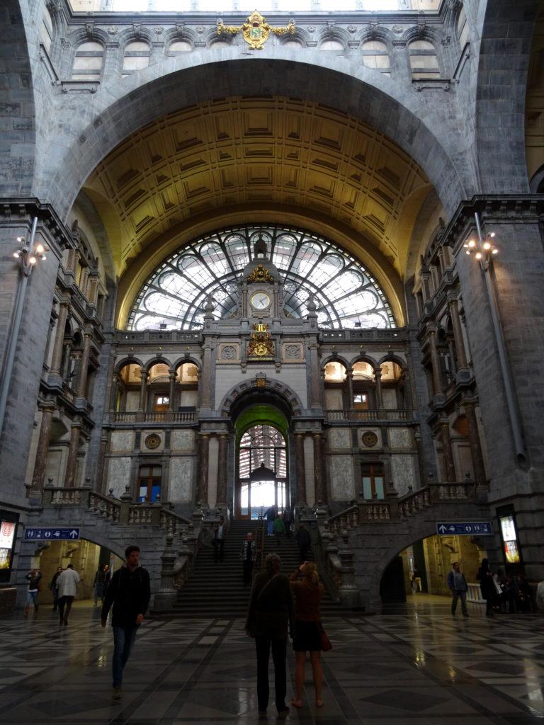 Dworzec w Antwerpii