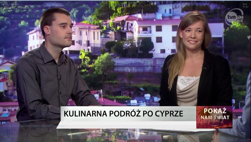 Cypr TVN24 BiS - Marta i Maciej Gawrychowscy
