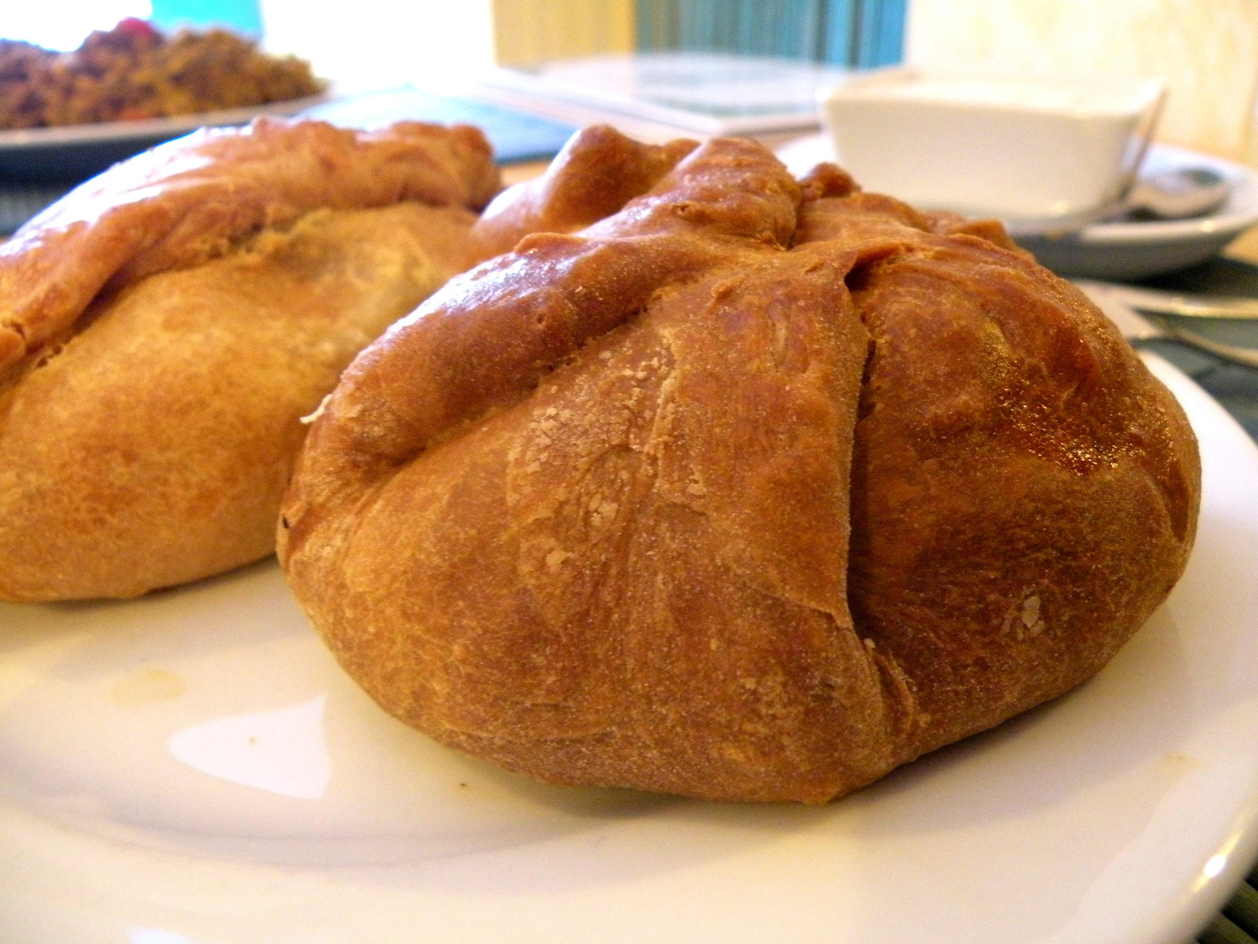 Kuchnia tatarska u Alika - pierogi z pieca