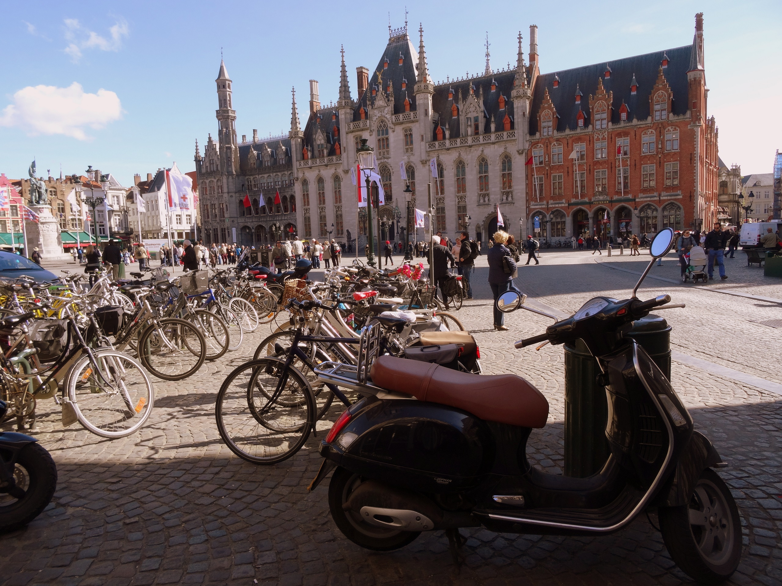 Brugia - główny plac - Grote Markt