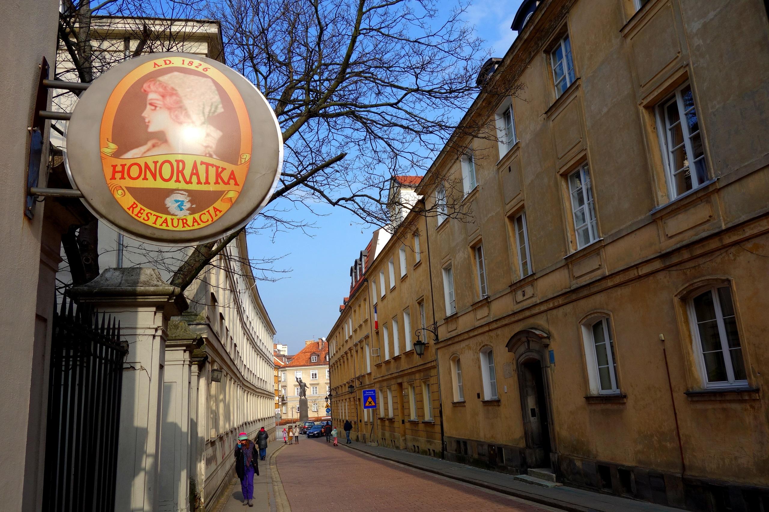 Cukiernie i kawiarnie w Warszawie - dawniej i dziś! Honoratka przy ulicy Miodowej