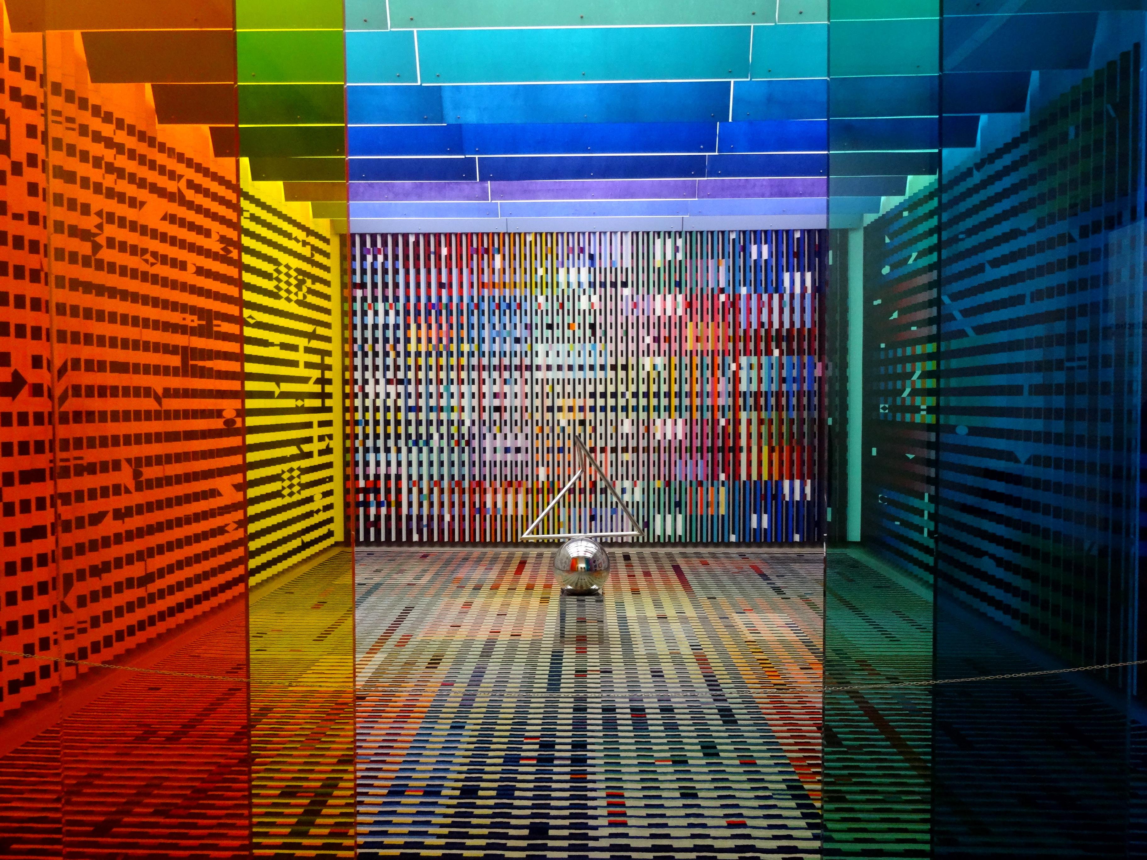 Konkurs Malowane na szkle - Centrum Pompidou - przykład zdjęcia