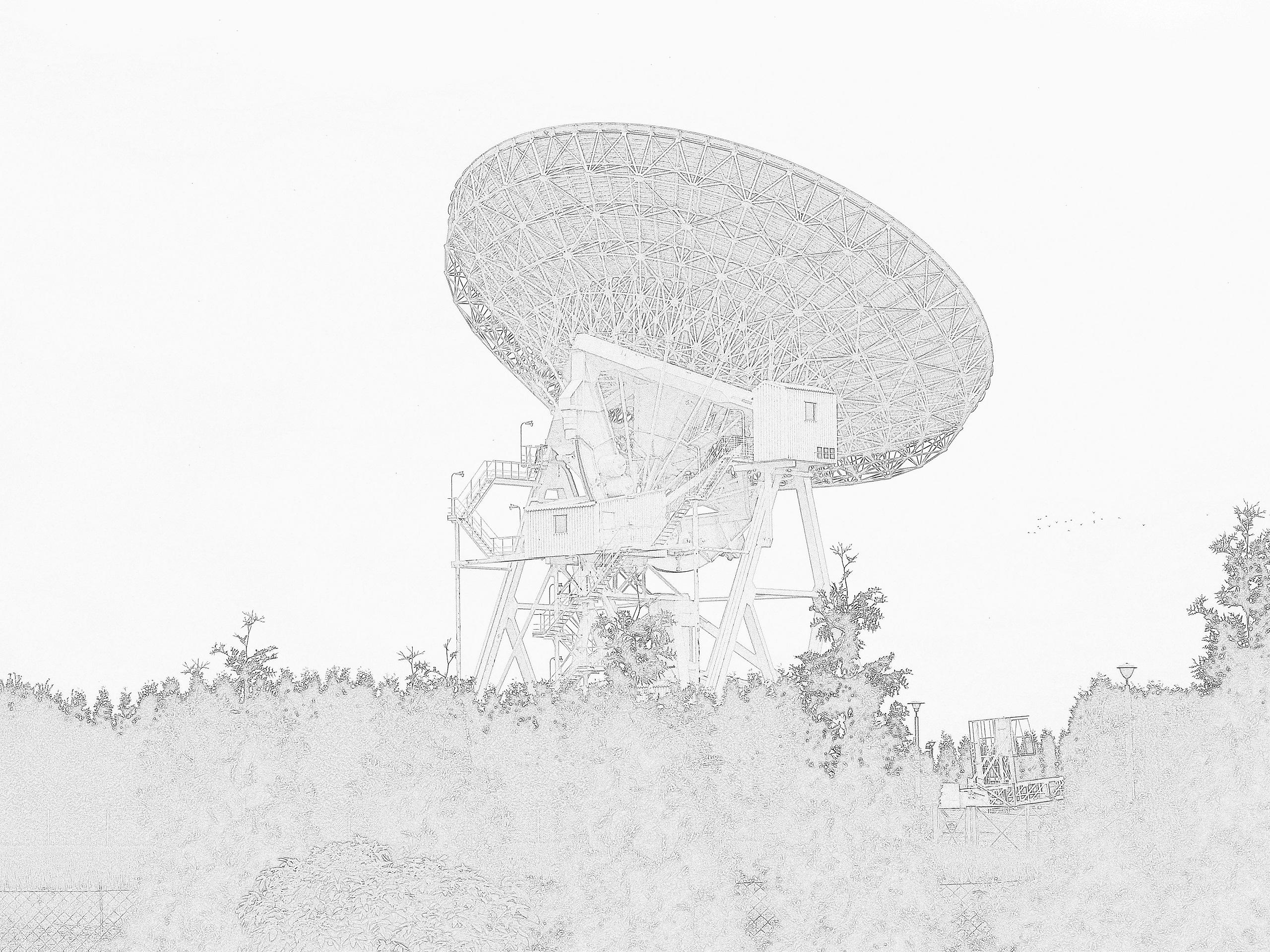 Radioteleskop w Piwnicach koło Torunia