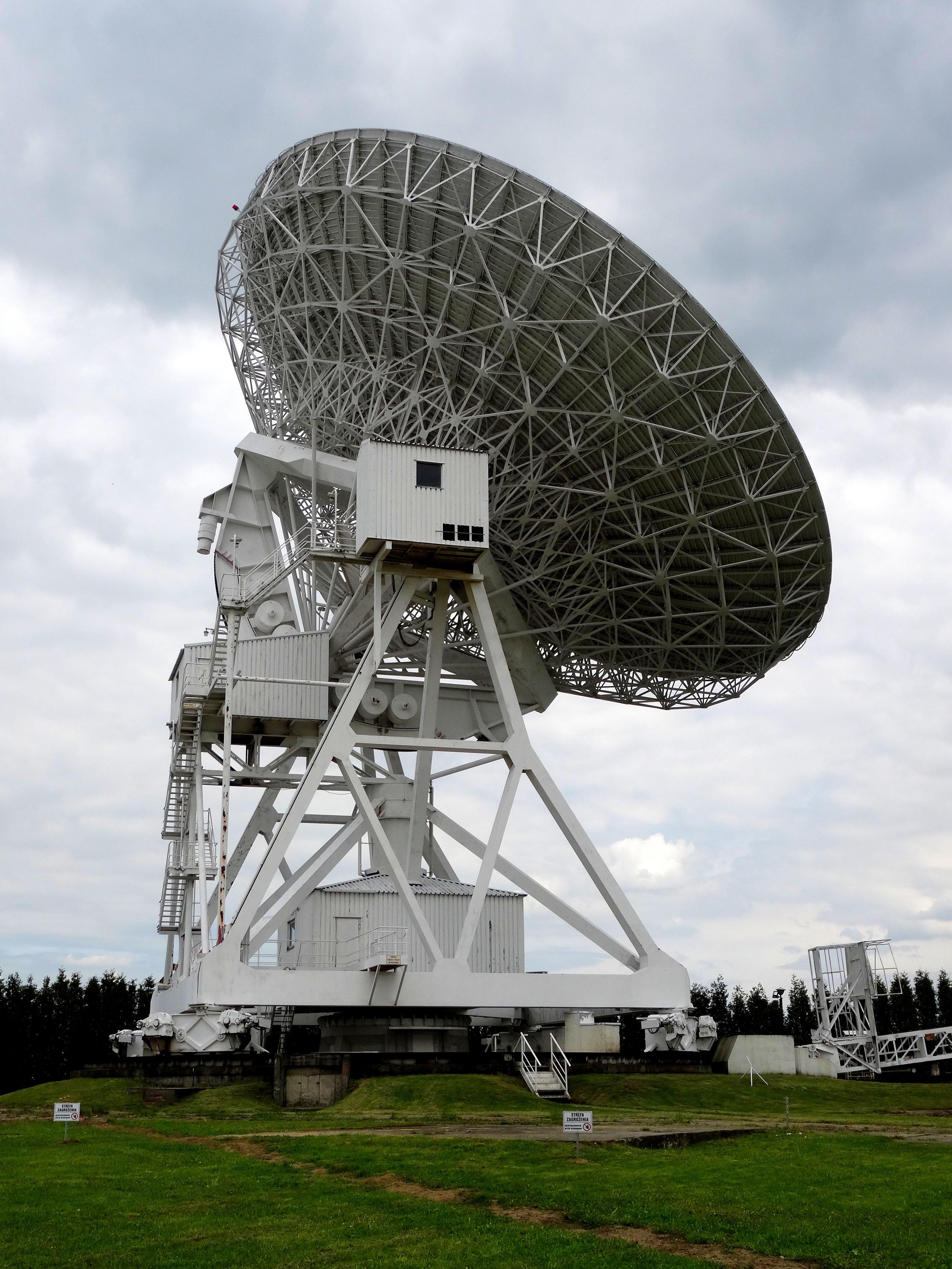 Jeden z największych radioteleskopów na świecie - Obserwatorium Astronomiczne UMK