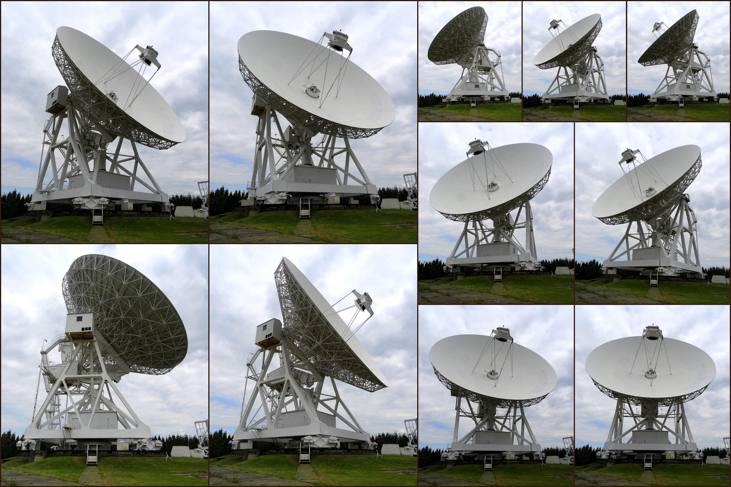 Obserwatorium Astronomiczne UMK - radioteleskop w ruchu