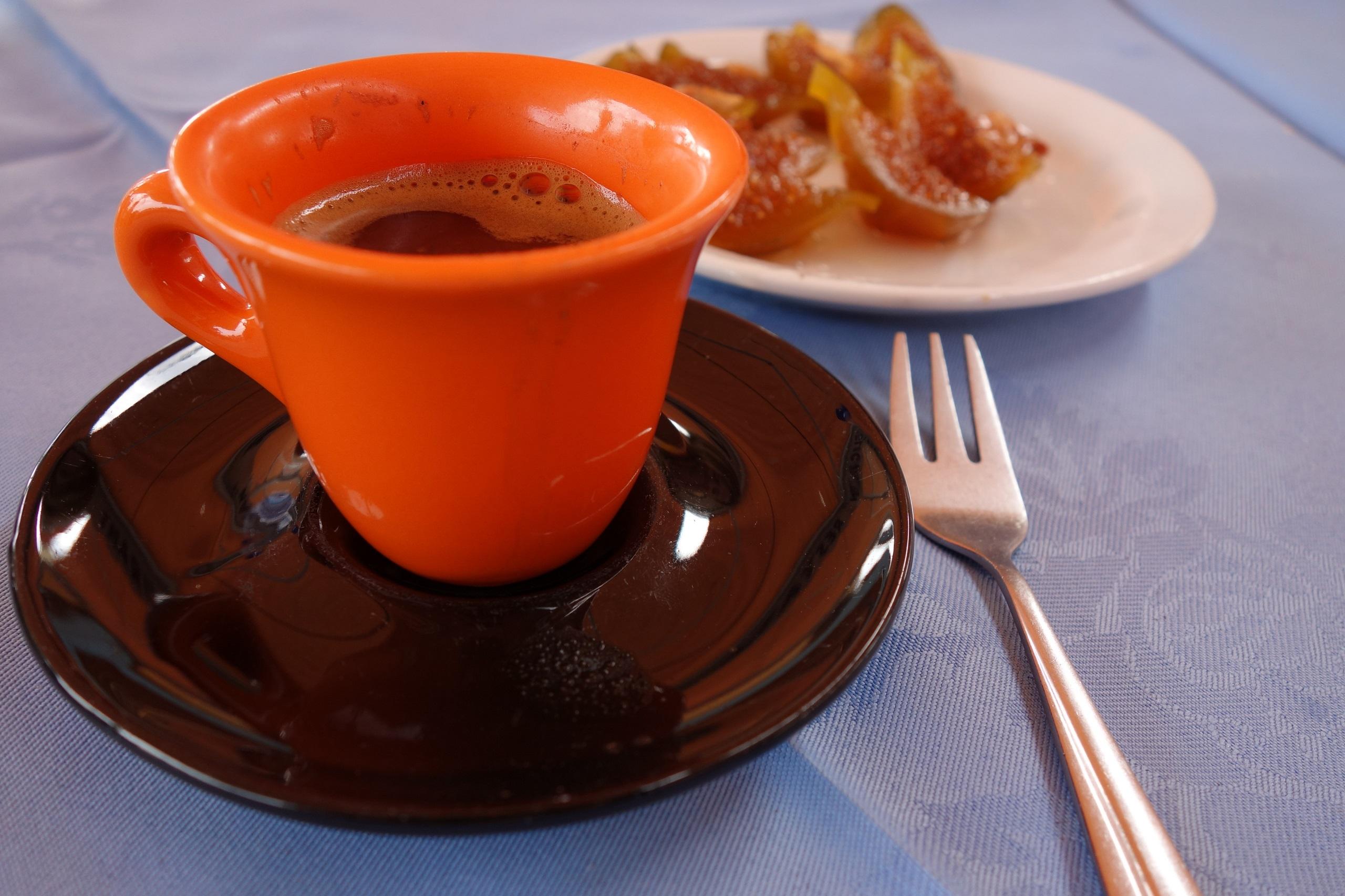 Kawa cypryjska i figi w miodzie - kuchnia cypryjska