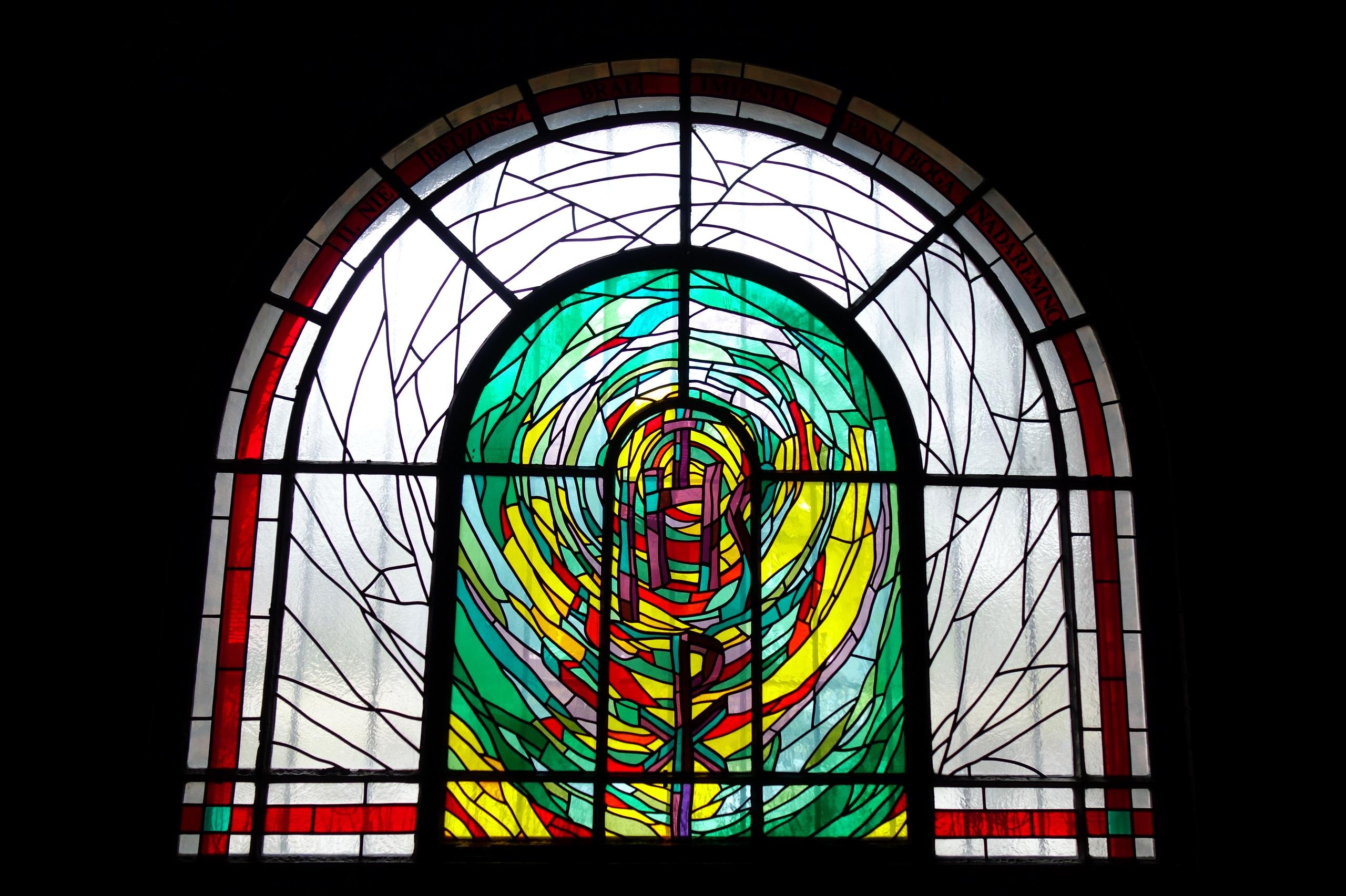 Witraż śląski - Kościół św. Józefa w Zabrzu