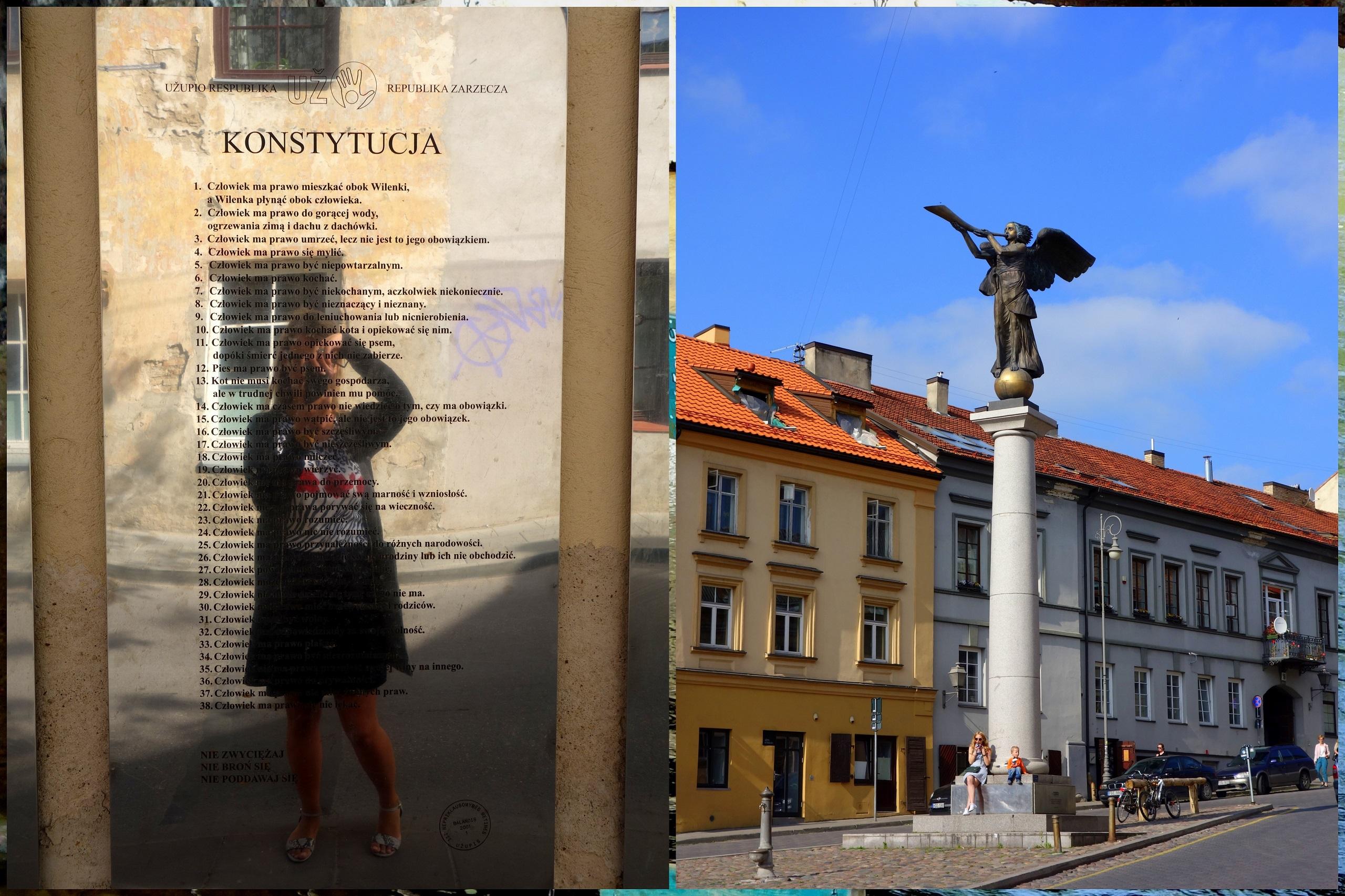 Konstytucja Zarzecza i Anioł Zarzecza - Wilno