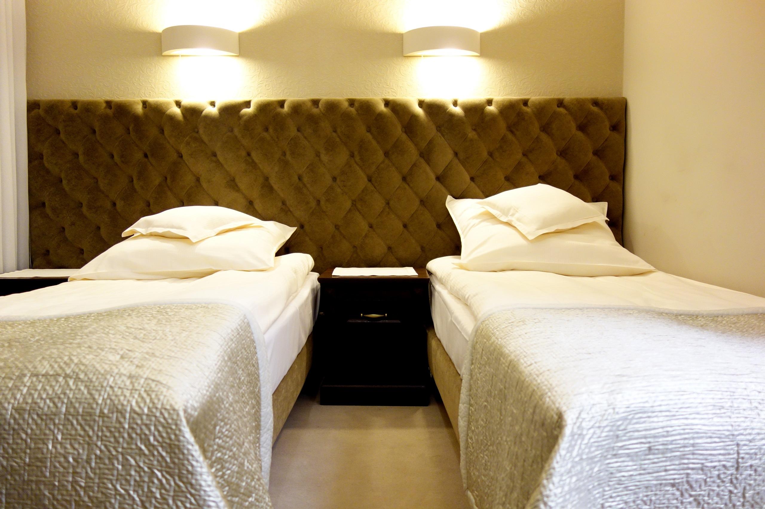Pokój w nowym budynku hotelowym Zamku Dubiecko