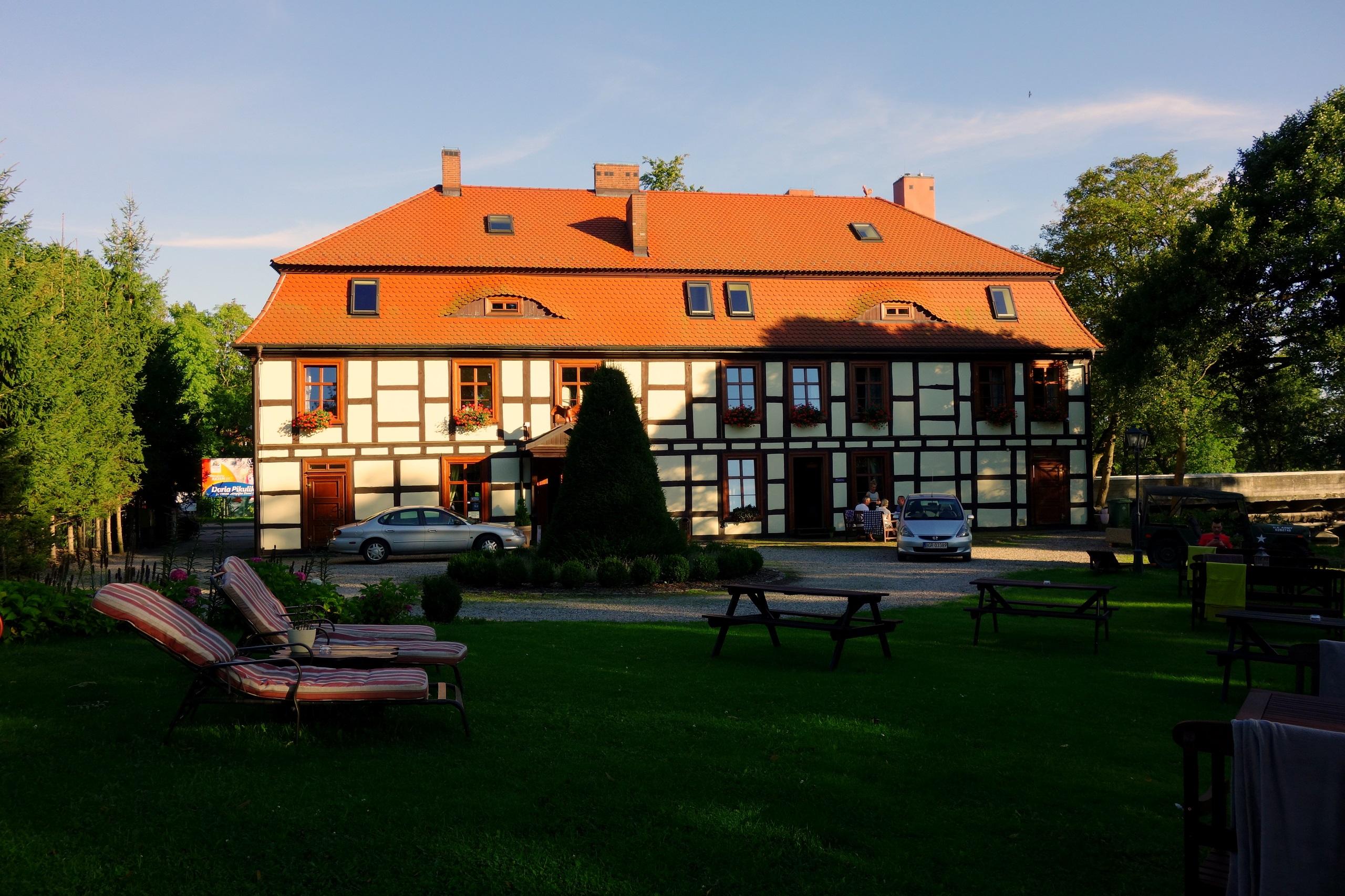 Gościniec Zamkowy - hotel historyczny