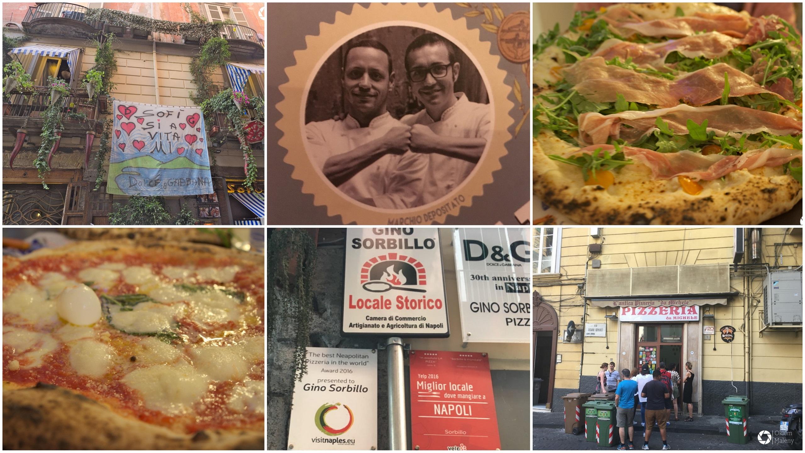 Neapol - najlepsza pizza na świecie. Autorka: Maria Magdalena Krychowska