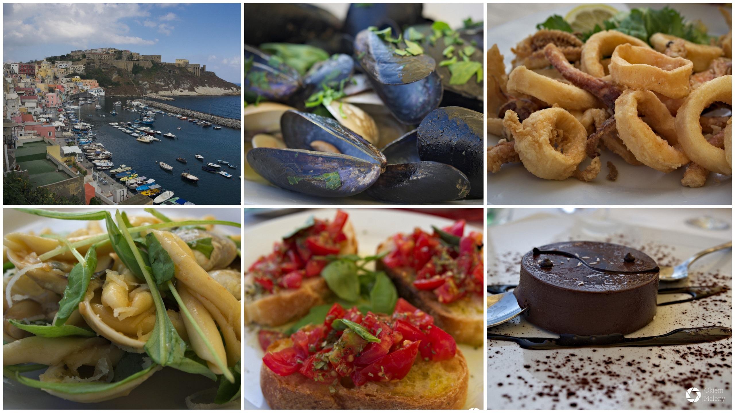Włochy – Kampania - La locanda del Postino - kuchnie świata. Autorka: Maria Magdalena Krychowska.