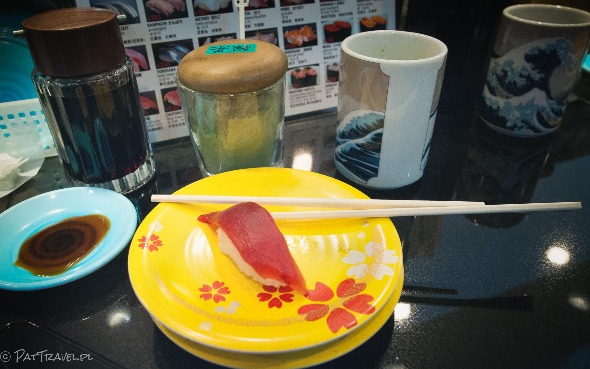 Japonia - sushi - kuchnie świata. Autorka zdjęcia: Patrycja Gruca