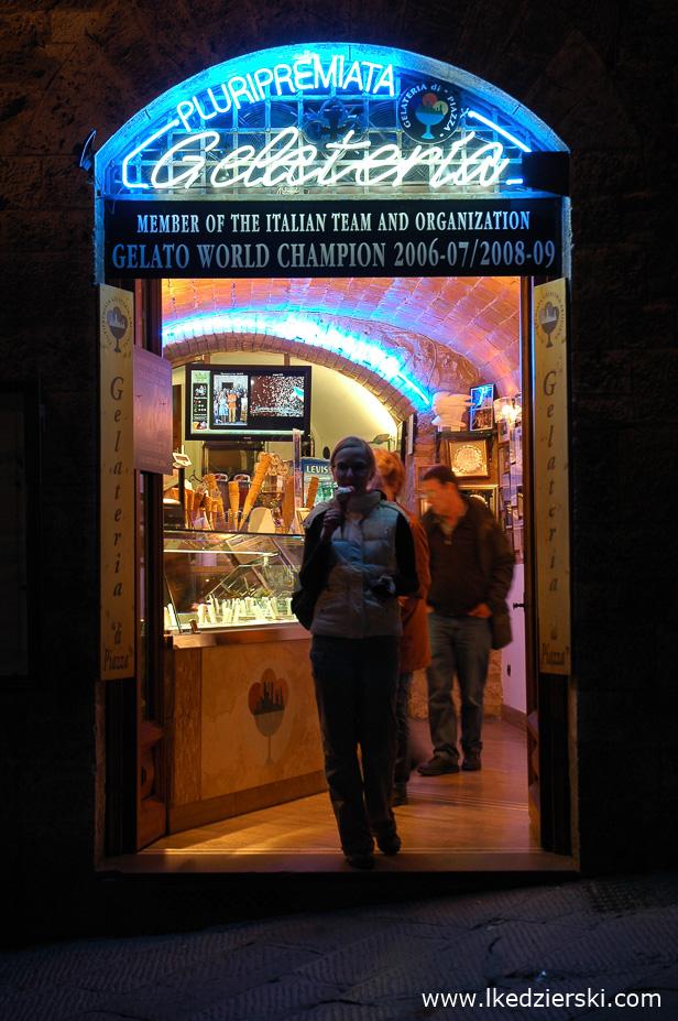 Włochy - San Gimignano - Kuchnie świata. Autor zdjęcia: Łukasz Kędzierski