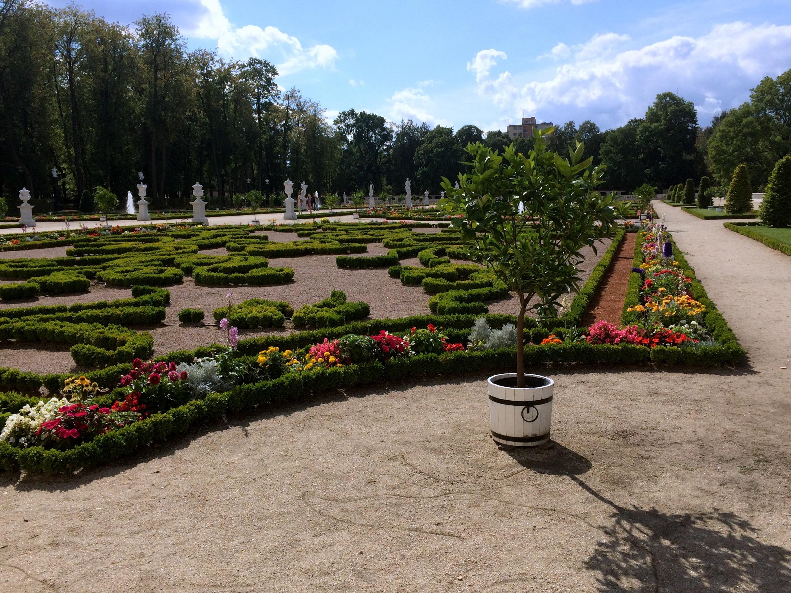 Ogrody Pałacu Branickich - TOP 10 atrakcji Podlasia