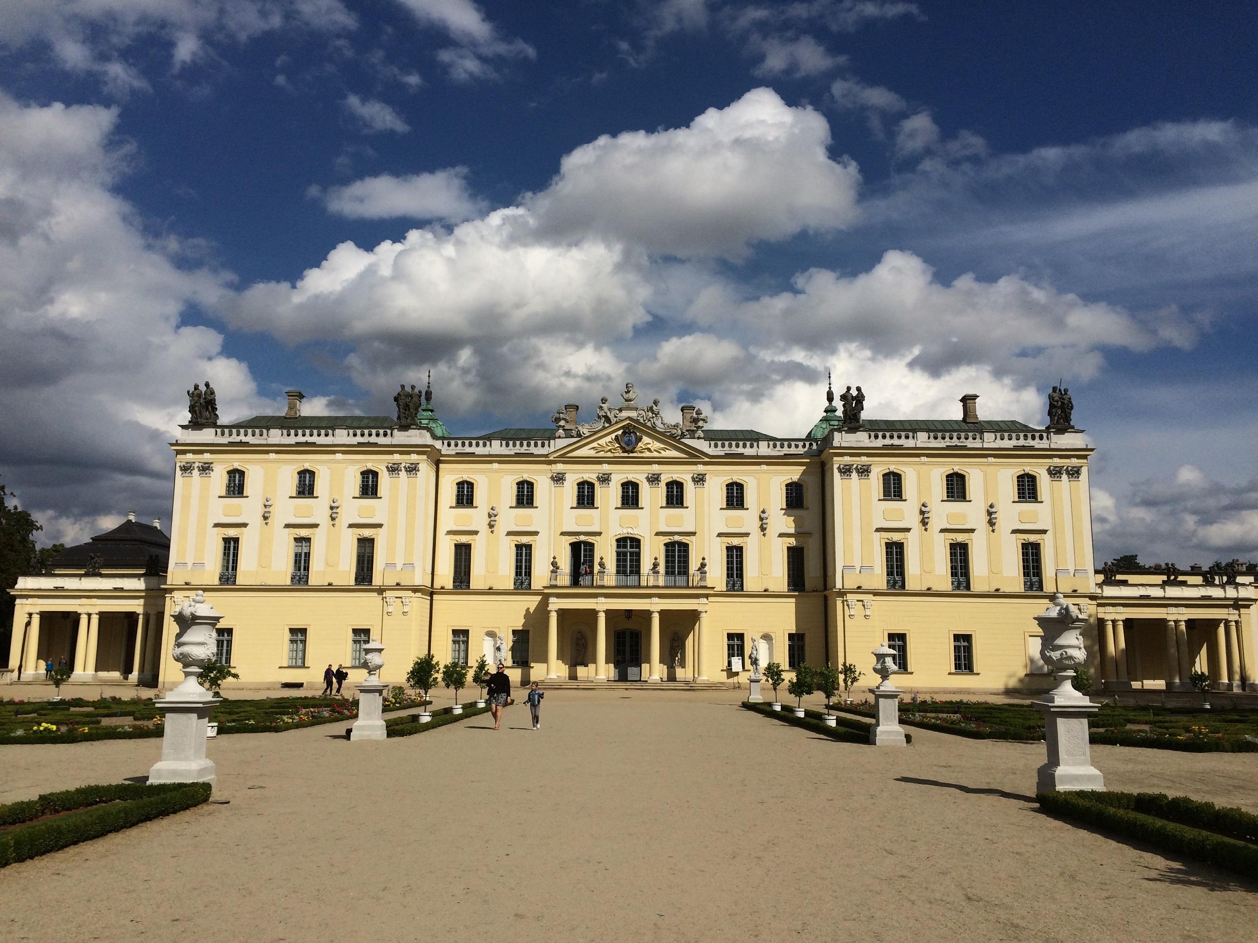 TOP 10 atrakcji Podlasia - Pałac Branickich, Białystok