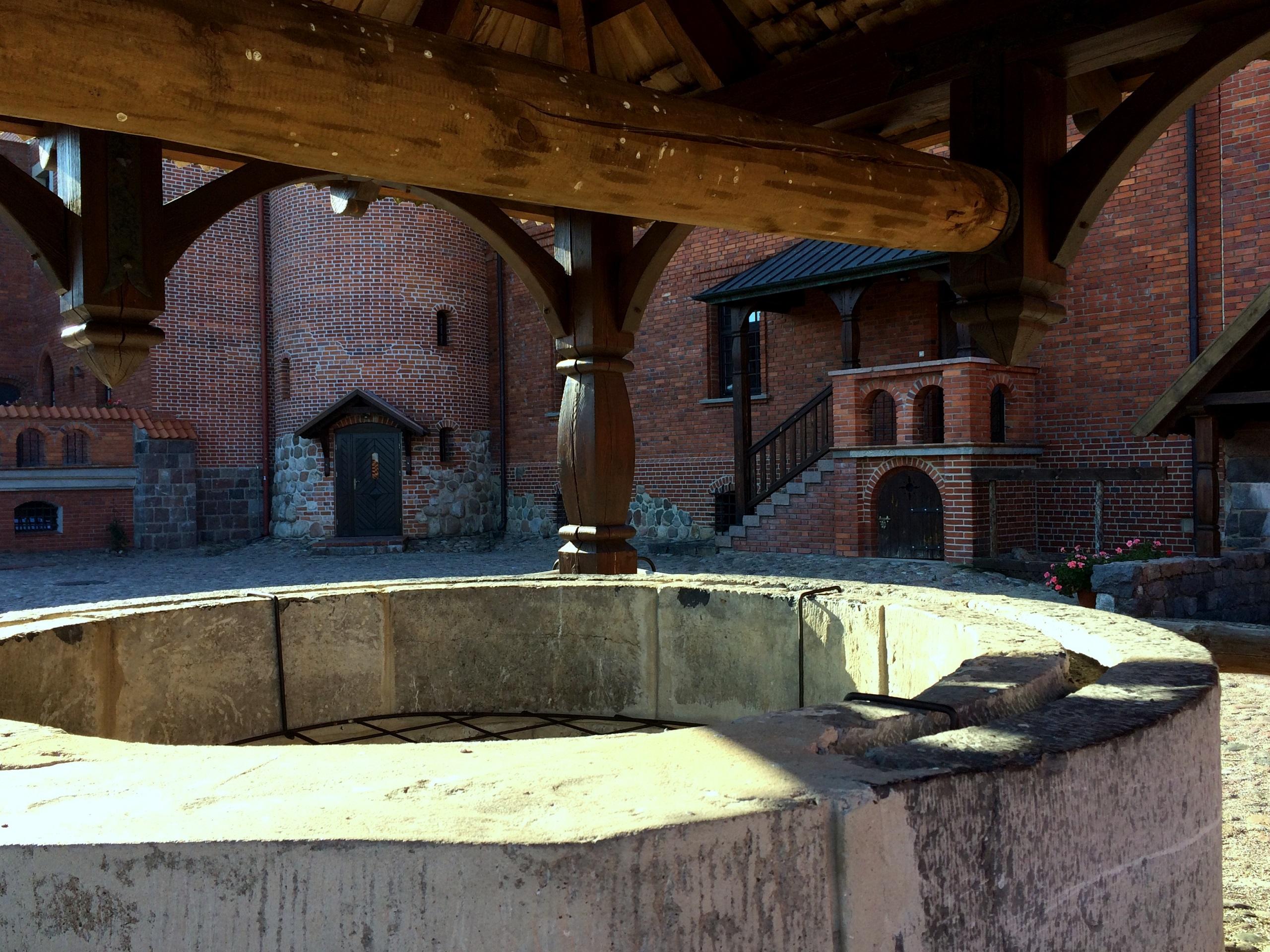 Zamek w Tykocinie, dziedziniec - TOP 10 atrakcji Podlasia