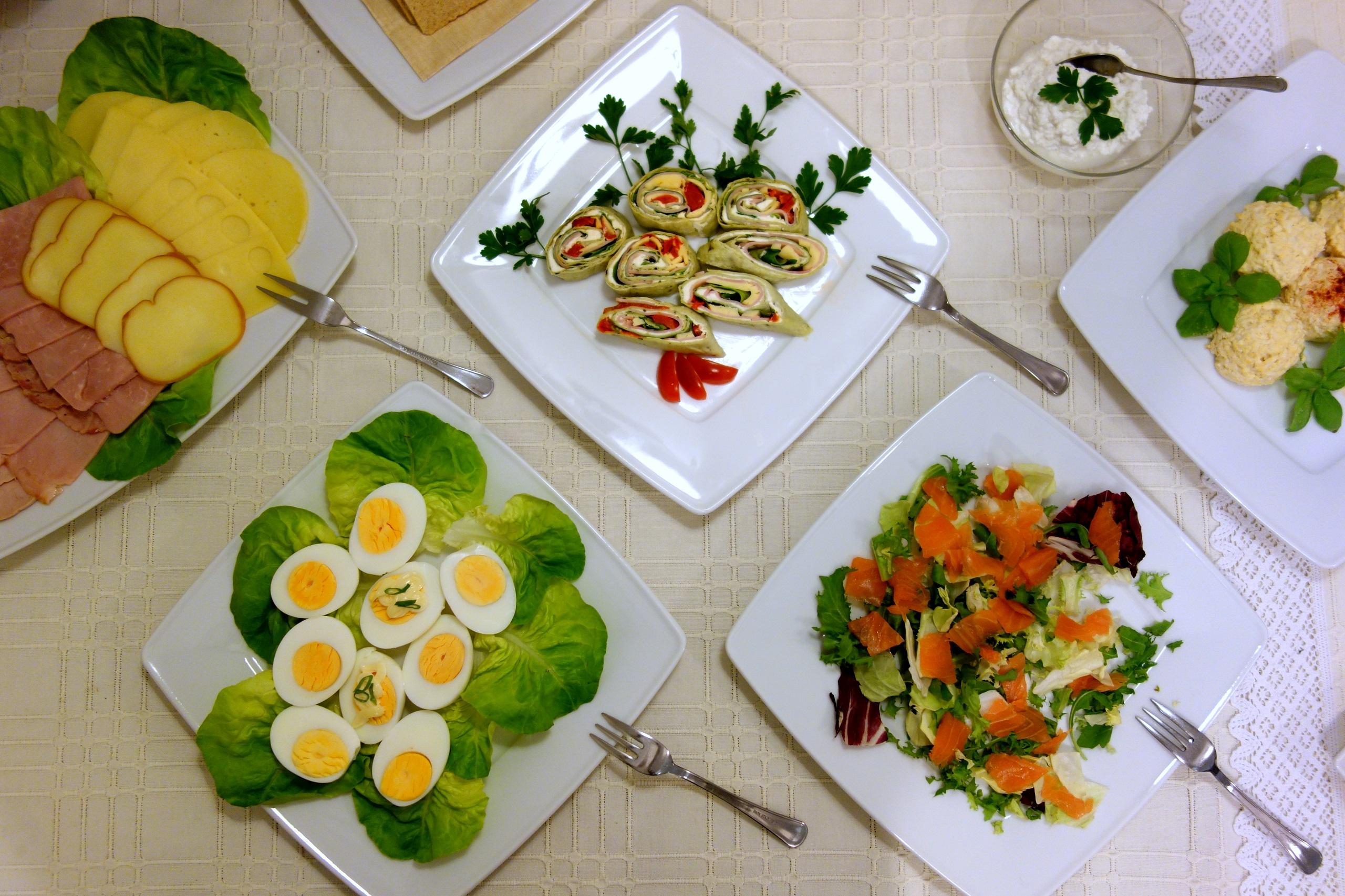 Hotelowe śniadanie - Villa Neve