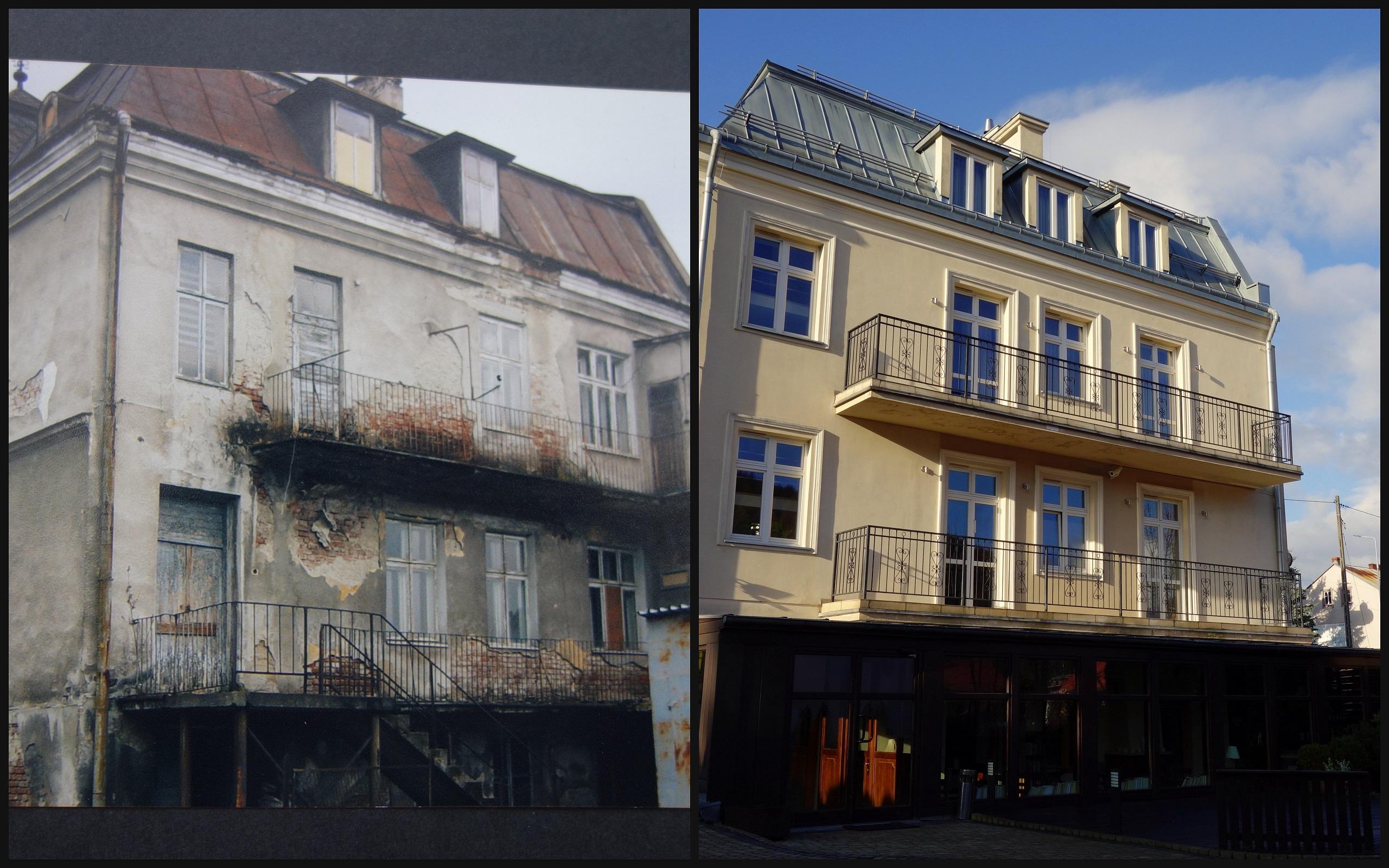 Villa Neve - przed i po renowacji
