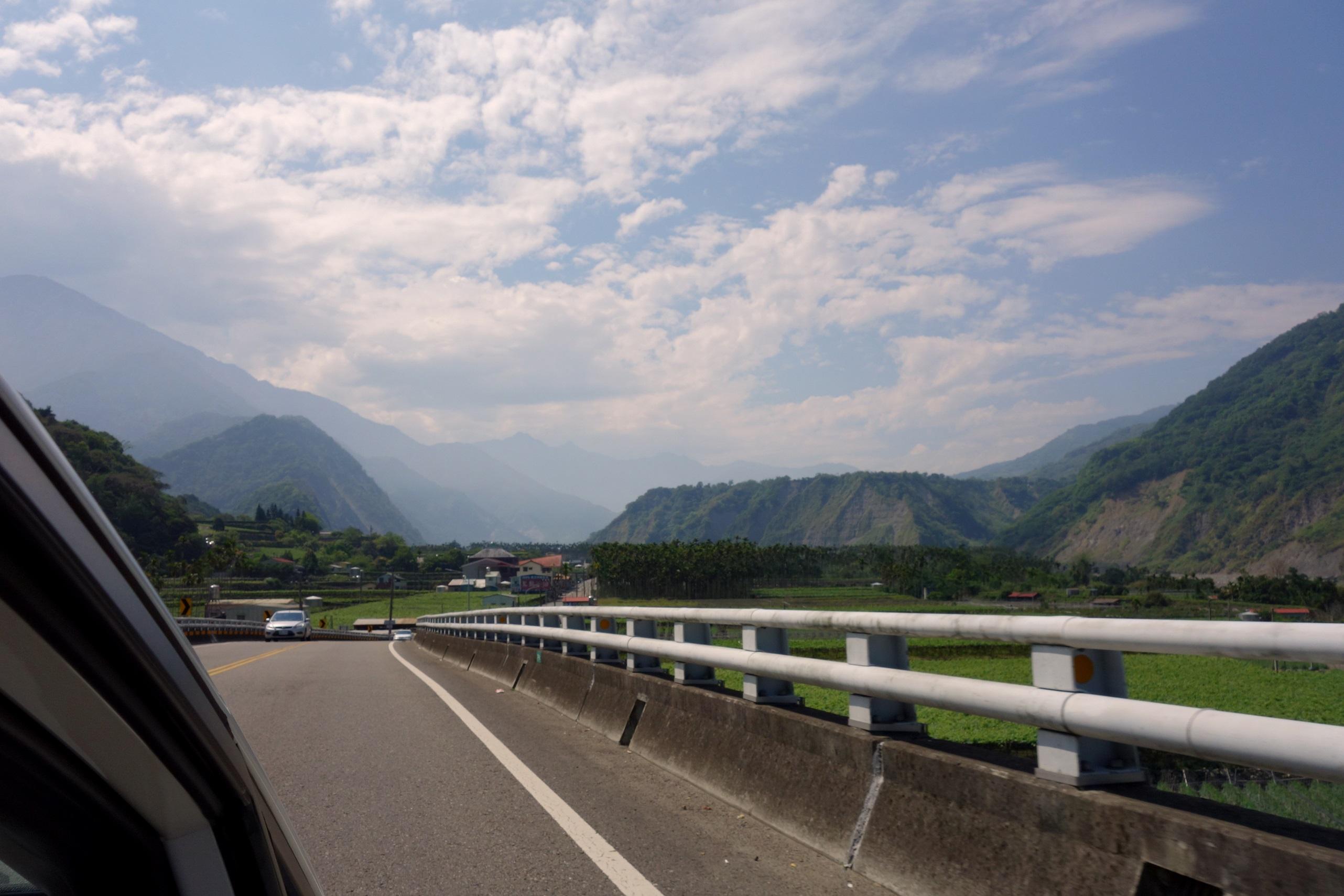 Piękne krajobrazy w drodze - Tajwan