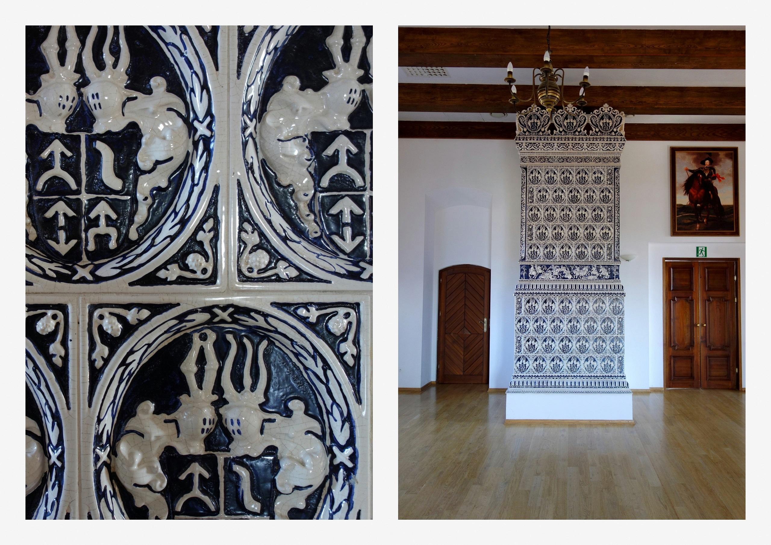 Zamek w Tykocinie - piec Wielki Modry