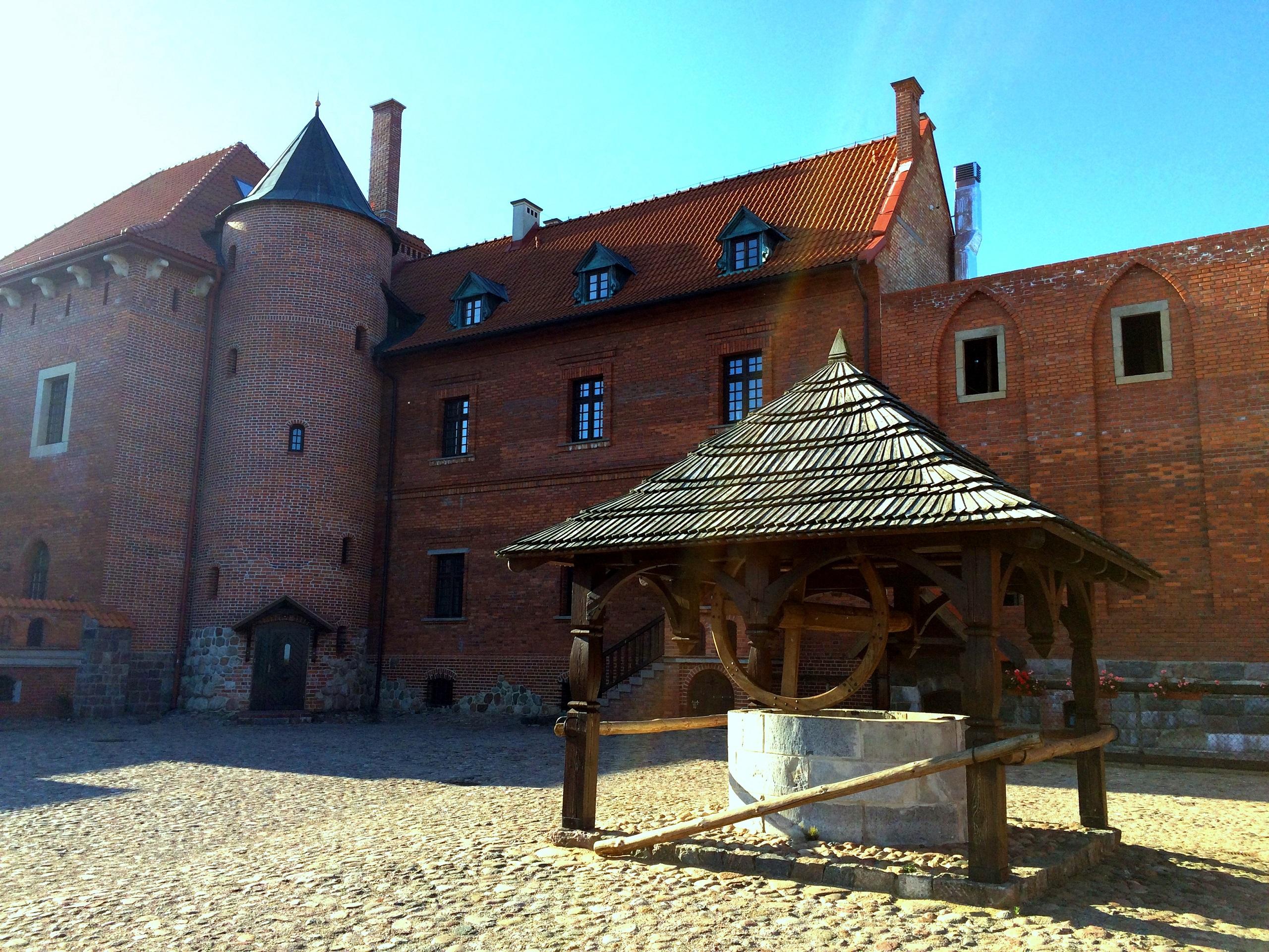 Zamek w Tykocinie - dziedziniec