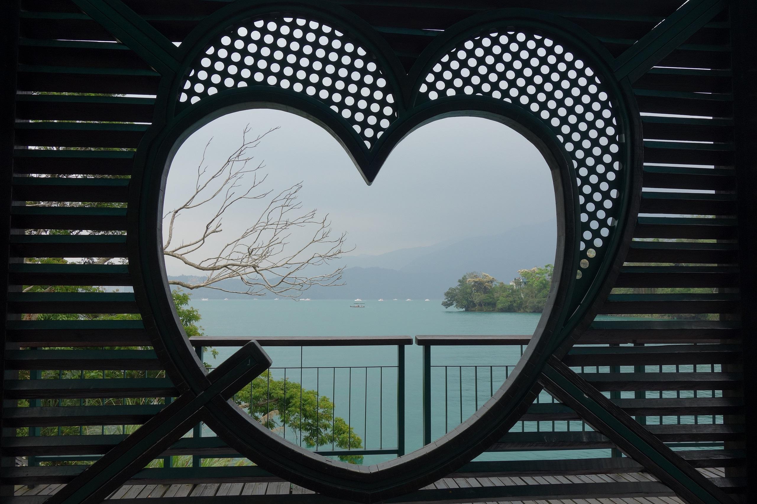 Sun Moon Lake - jedna z atrakcji Tajwanu
