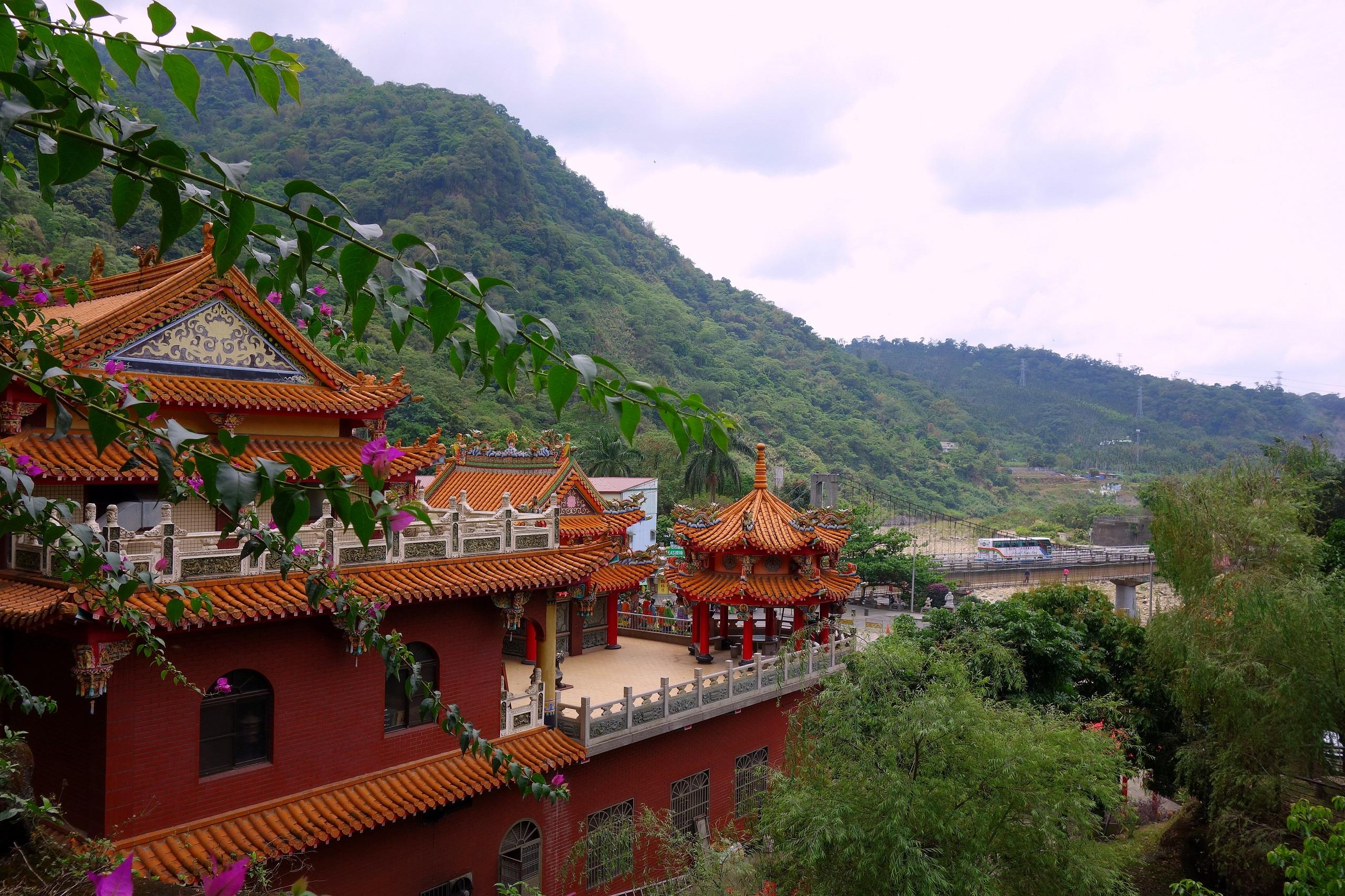 Świątynia buddyjska - Tajwan